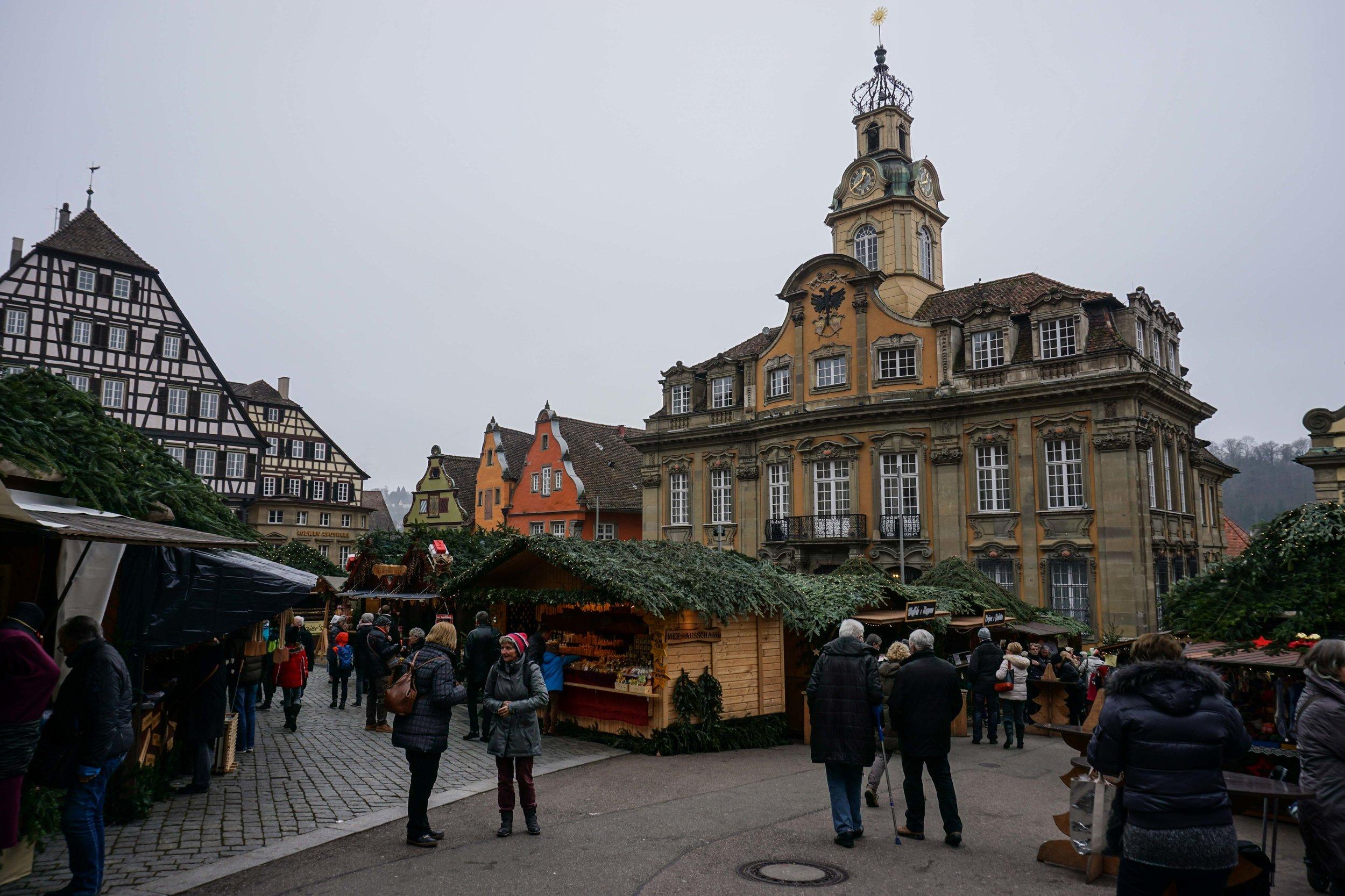 Schwäbisch Hall Weinachtsmarkt