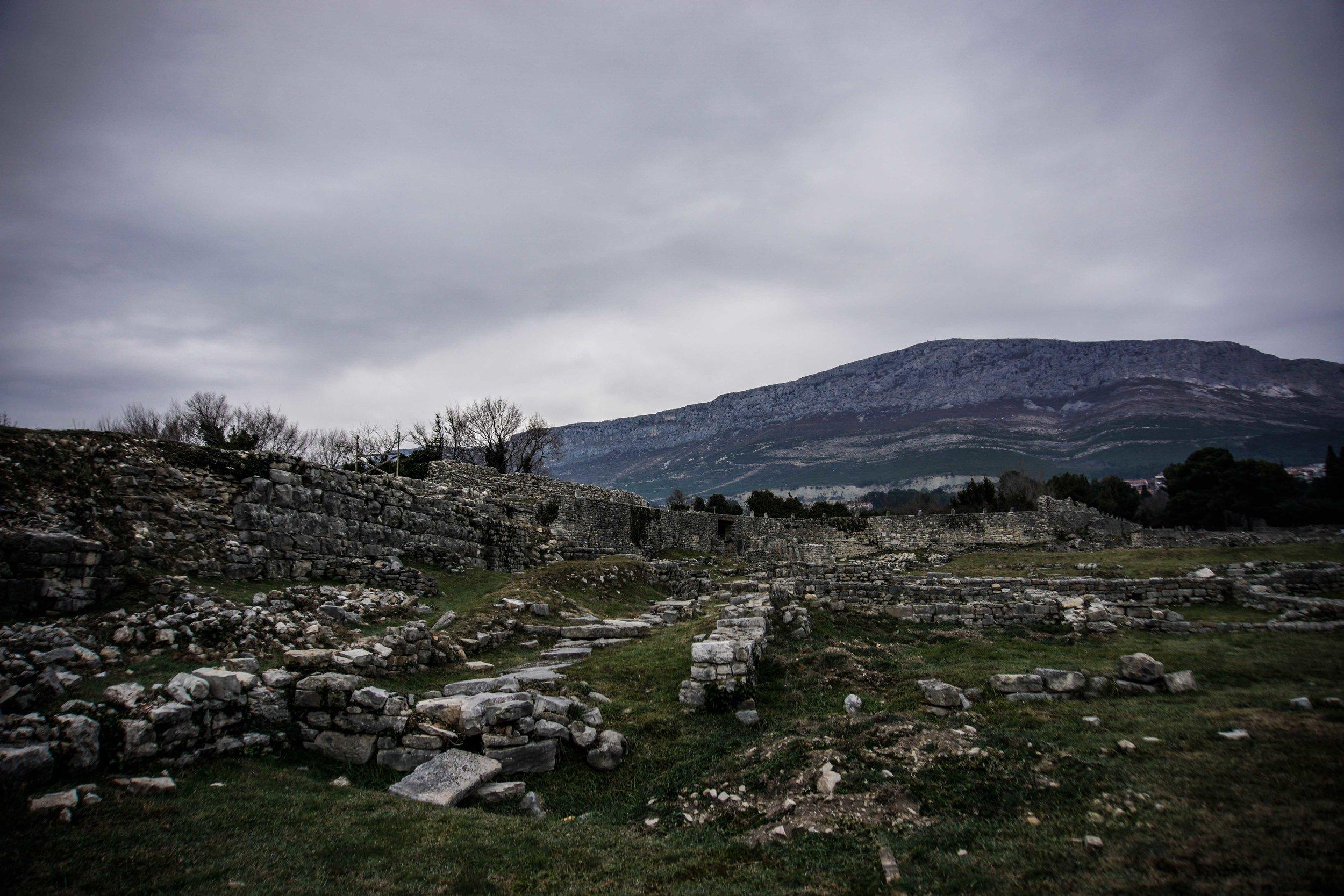 Salona ruins