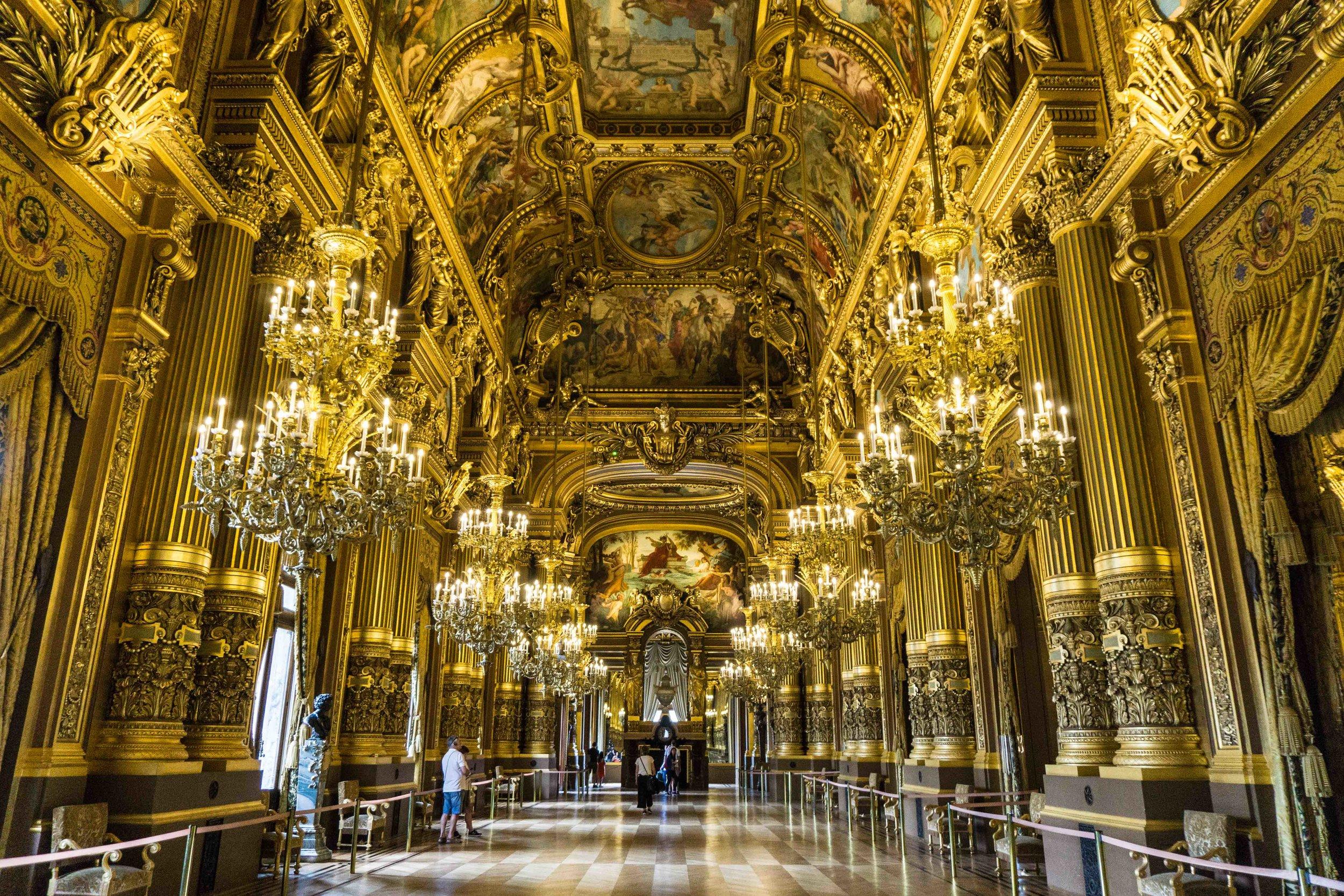 Waaaay more opulent than Versailles