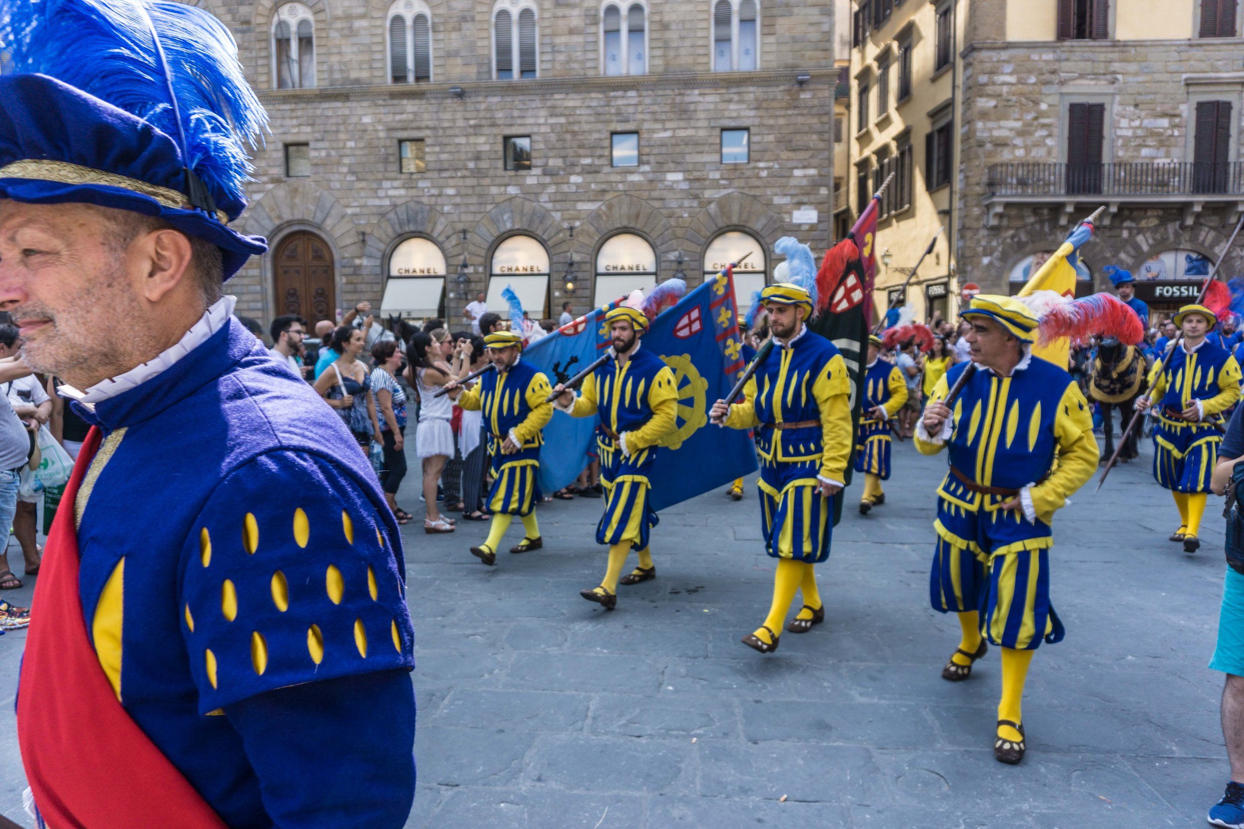 San Giovanni parades