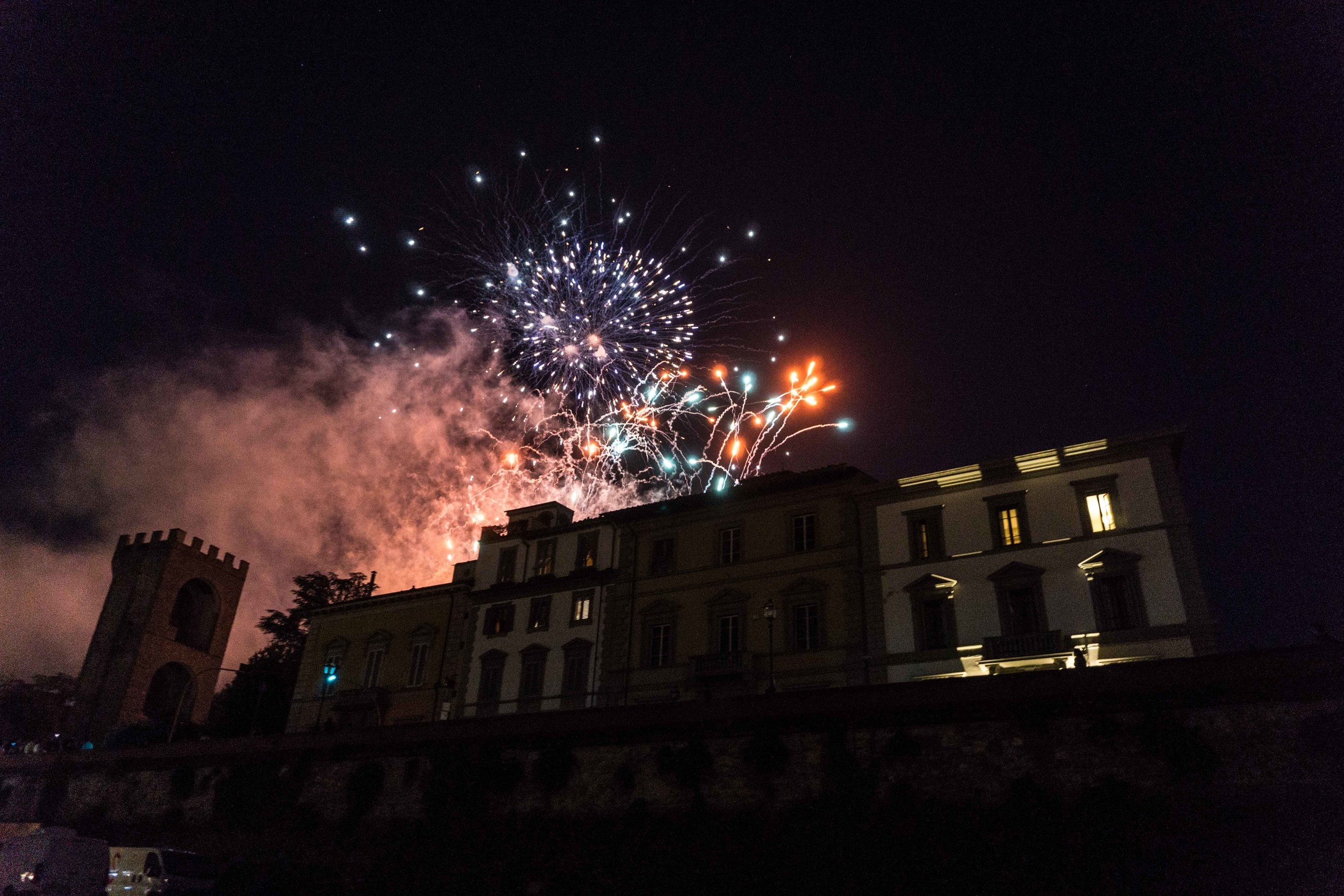 San Giovanni fireworks (we pretended they were for the 4th of July)