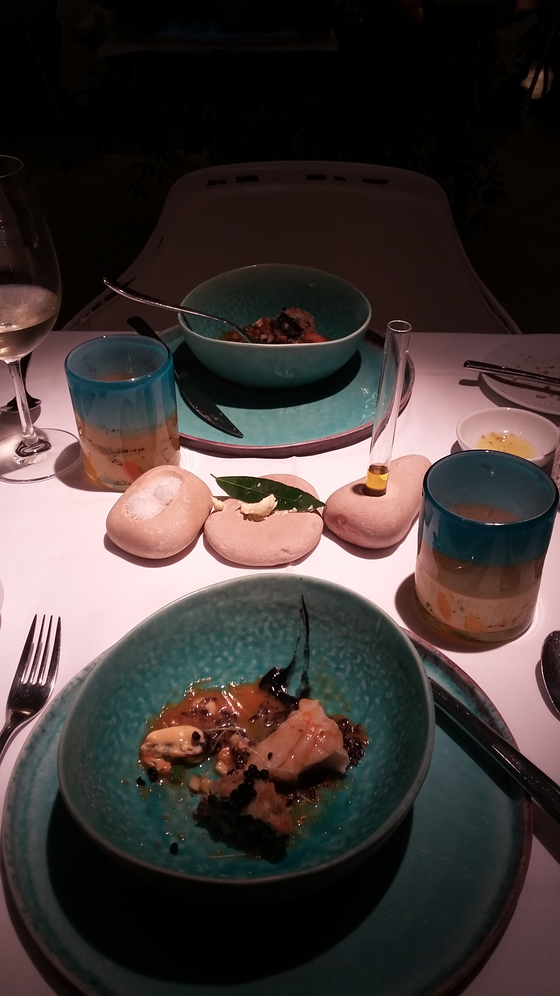 Monte - Michelin-starred restaurant - has the best dinnerware