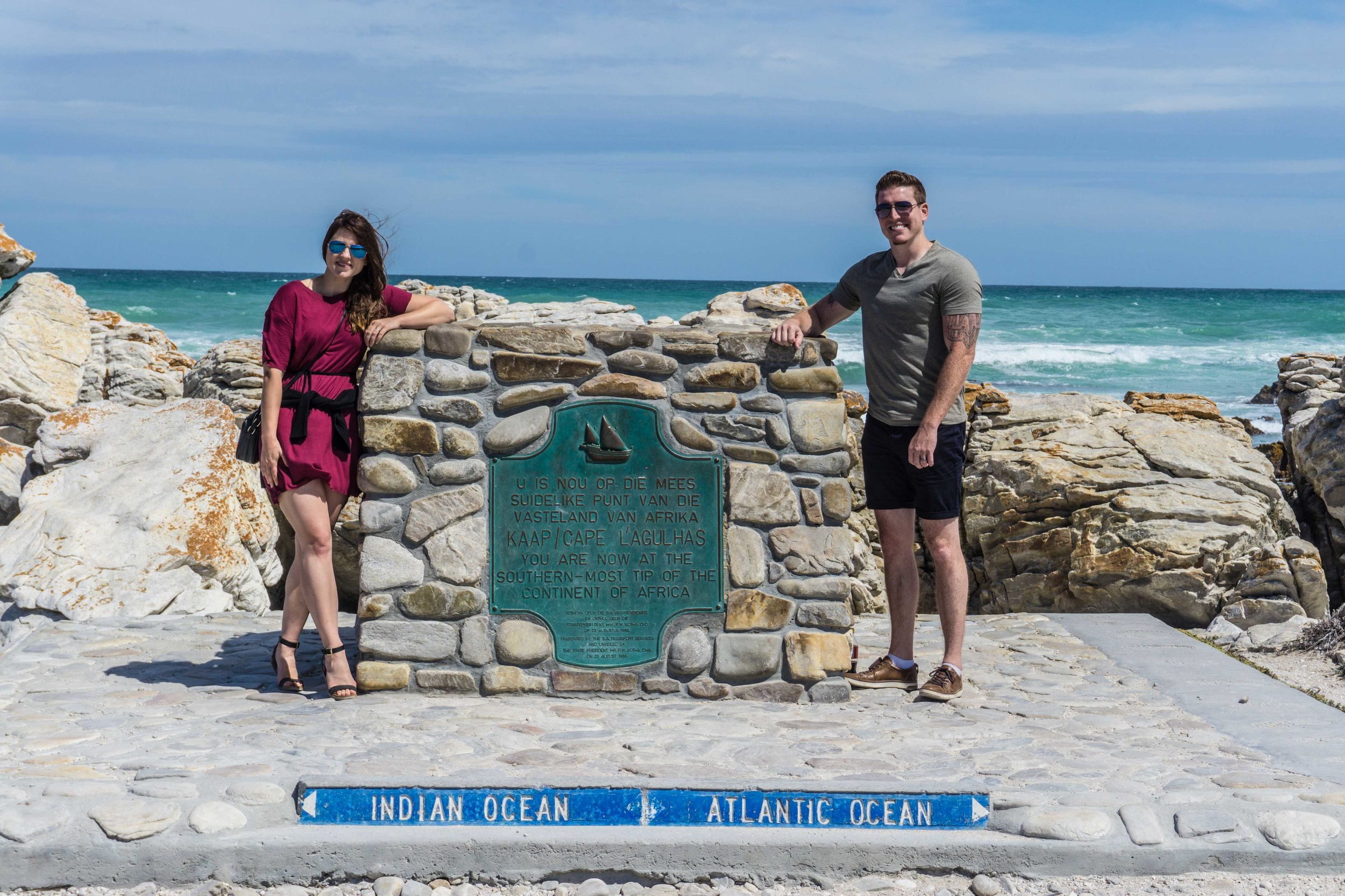 Southernmost Point of Africa!