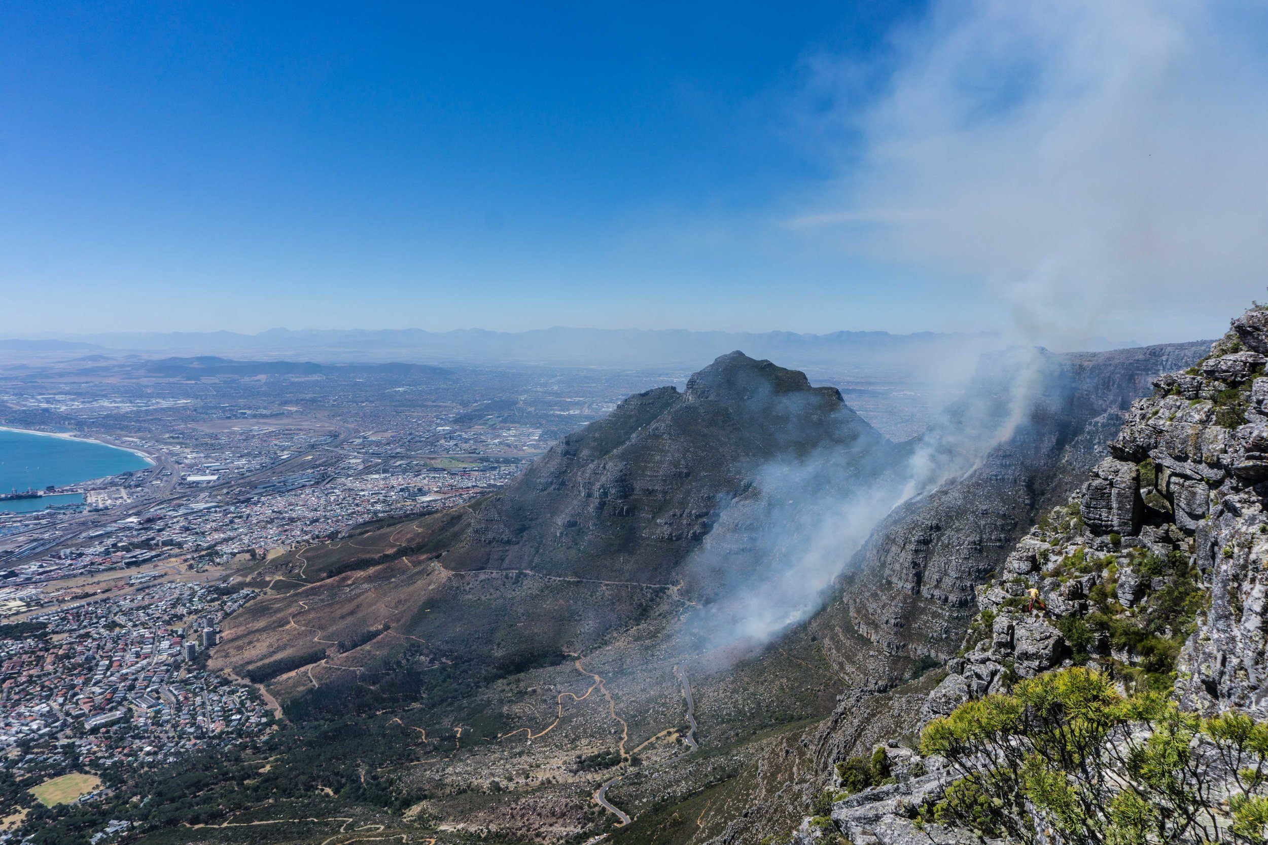 There were huge fires the last couple of weeks