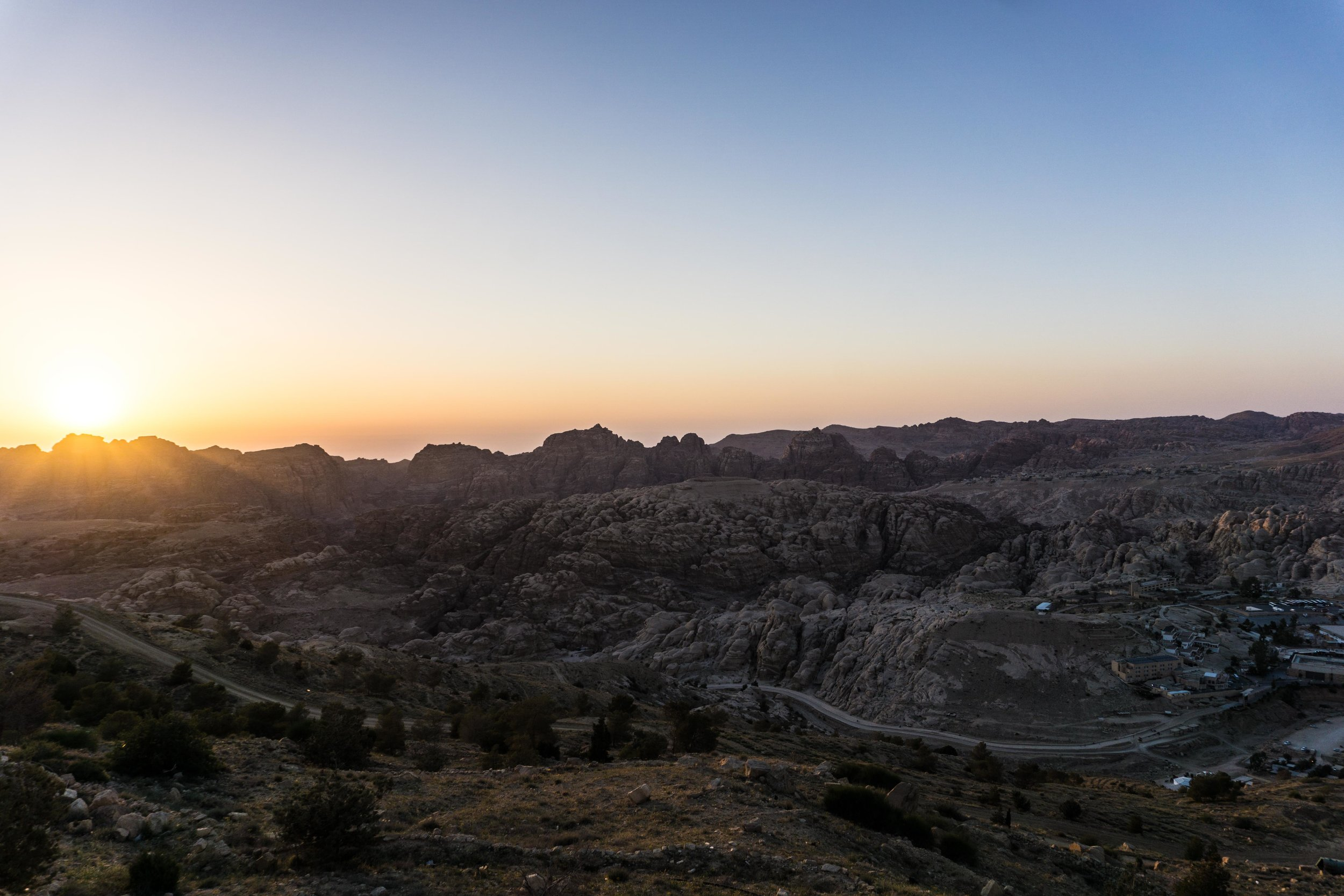 Sunsets in Wadi Musa