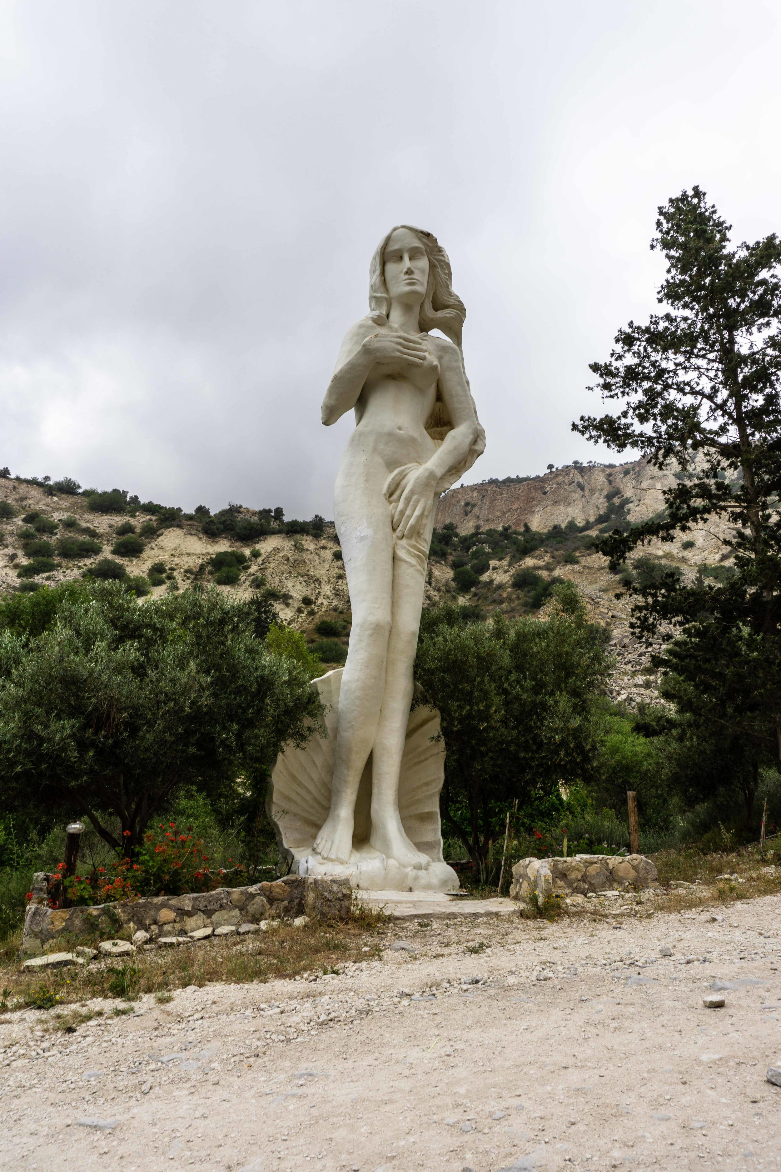 Very terrible statue of Aphrodite