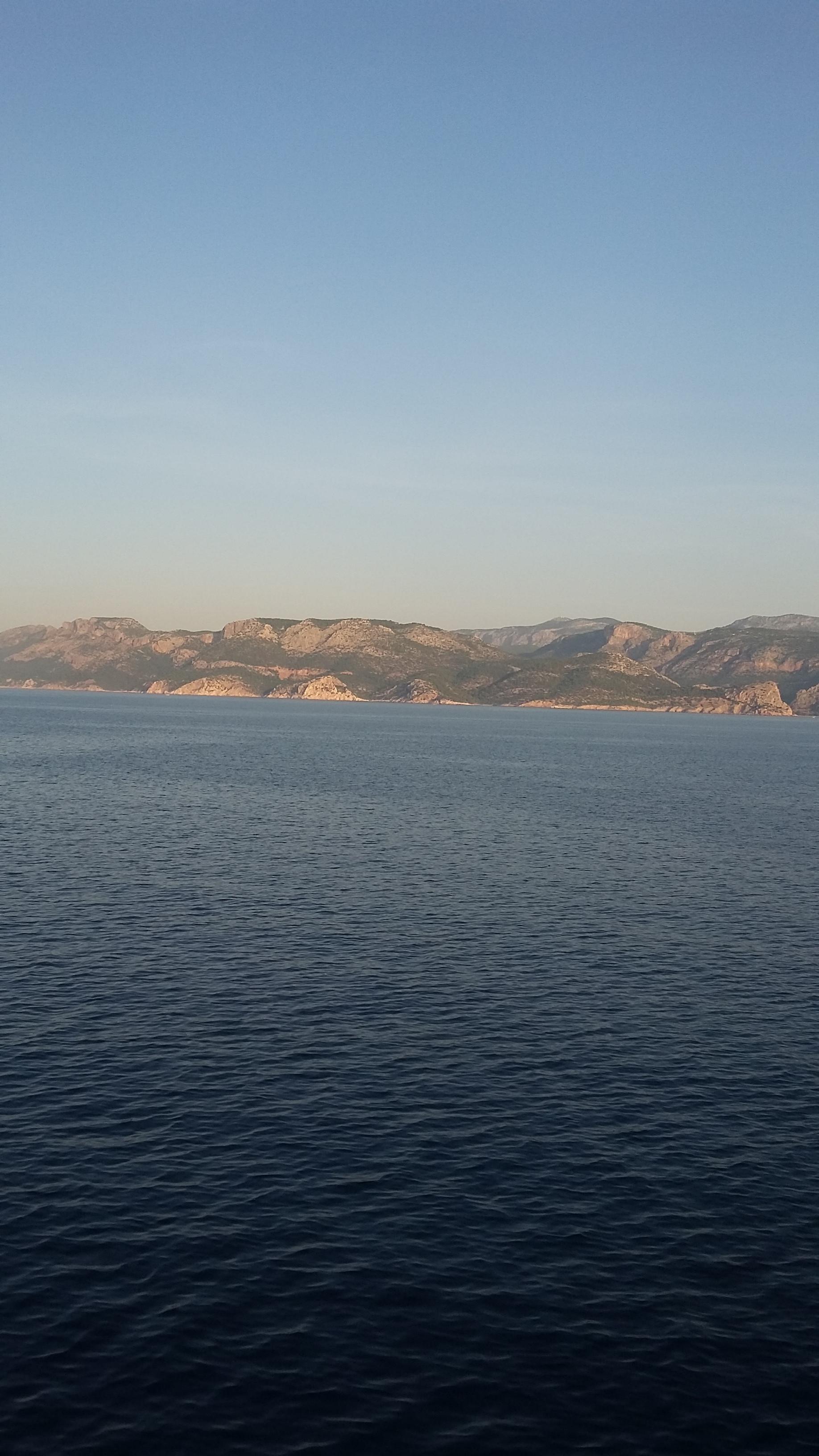 Ferry to Turkey