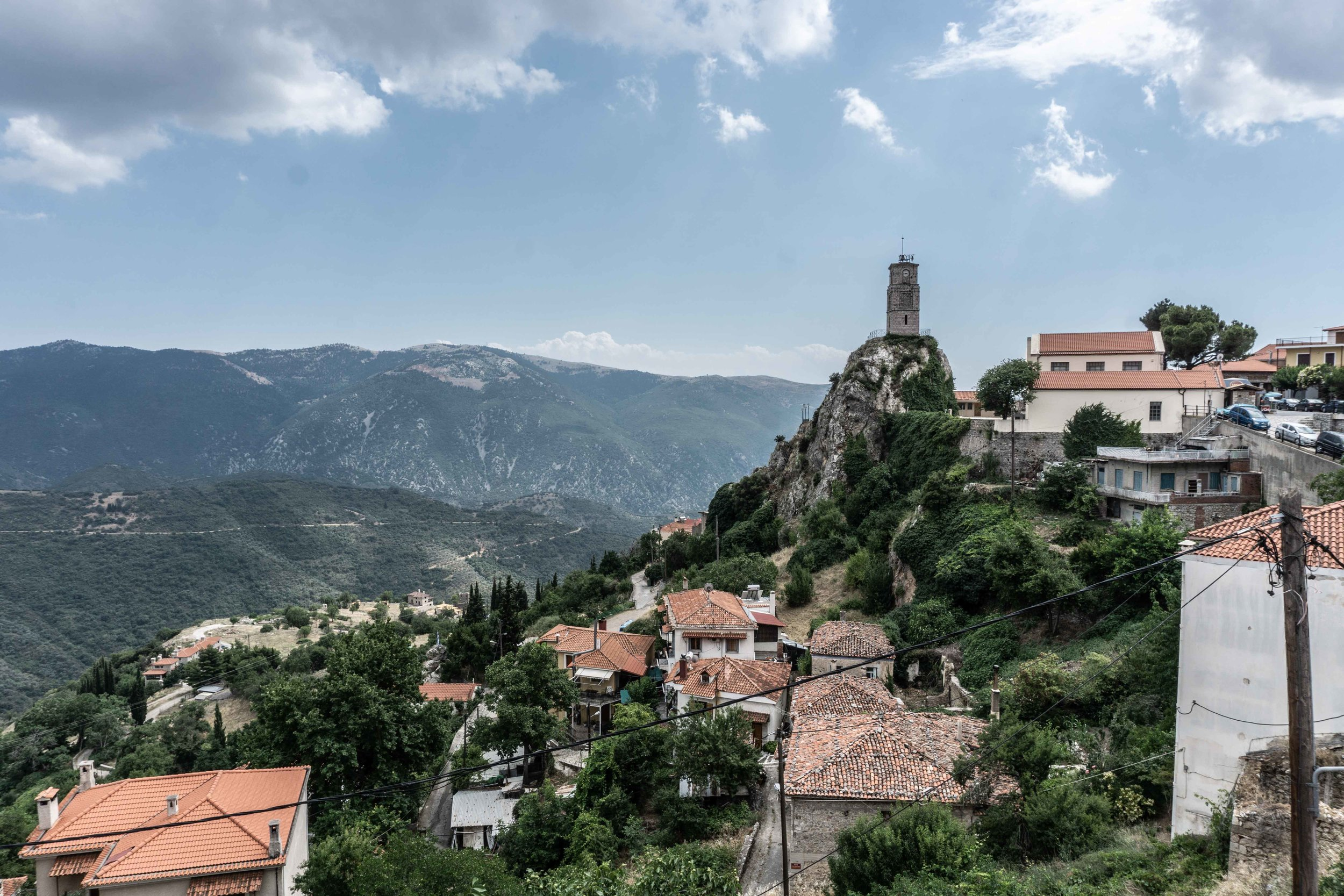 Little mountain towns