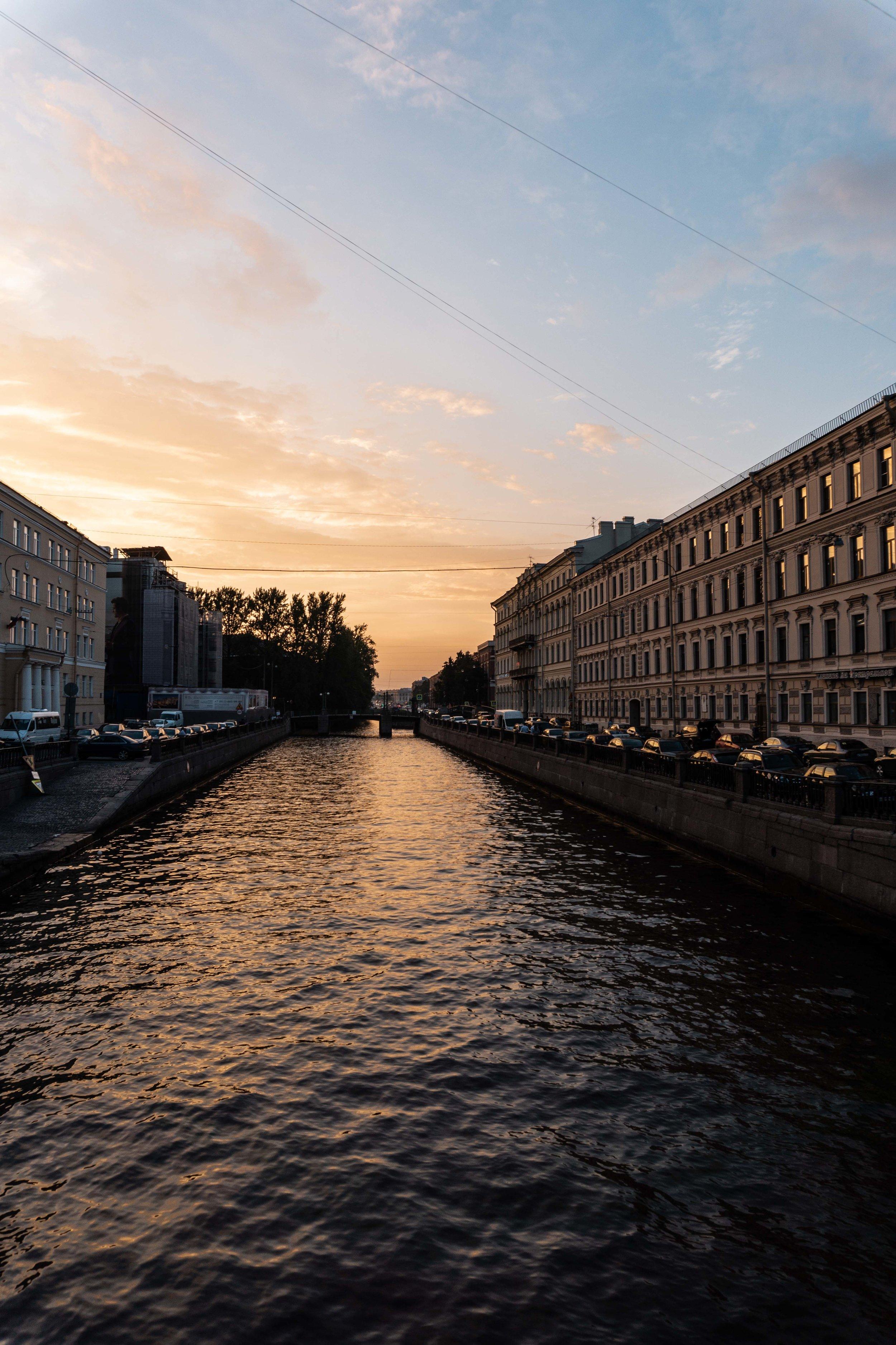 Sunsets in St. Petersberg