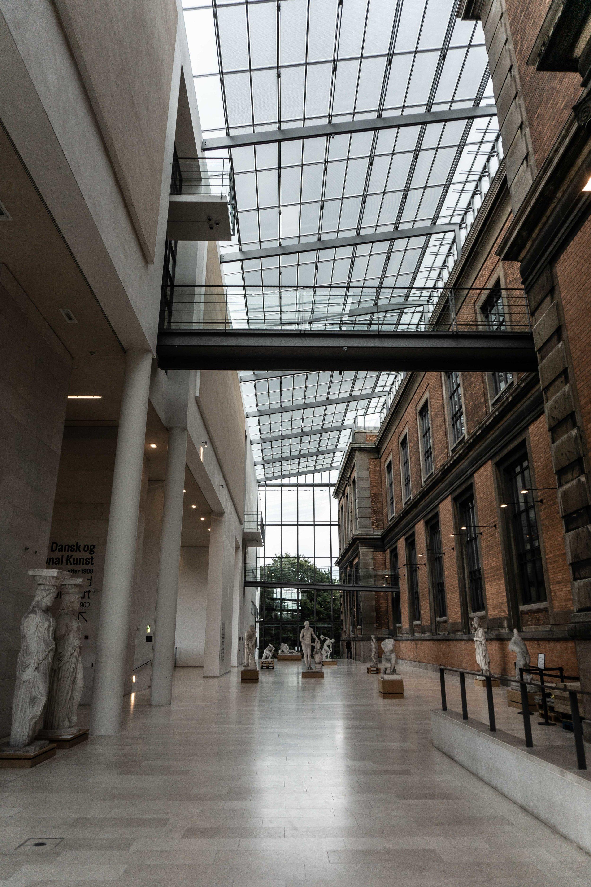 Interior of Kunst Art Museum