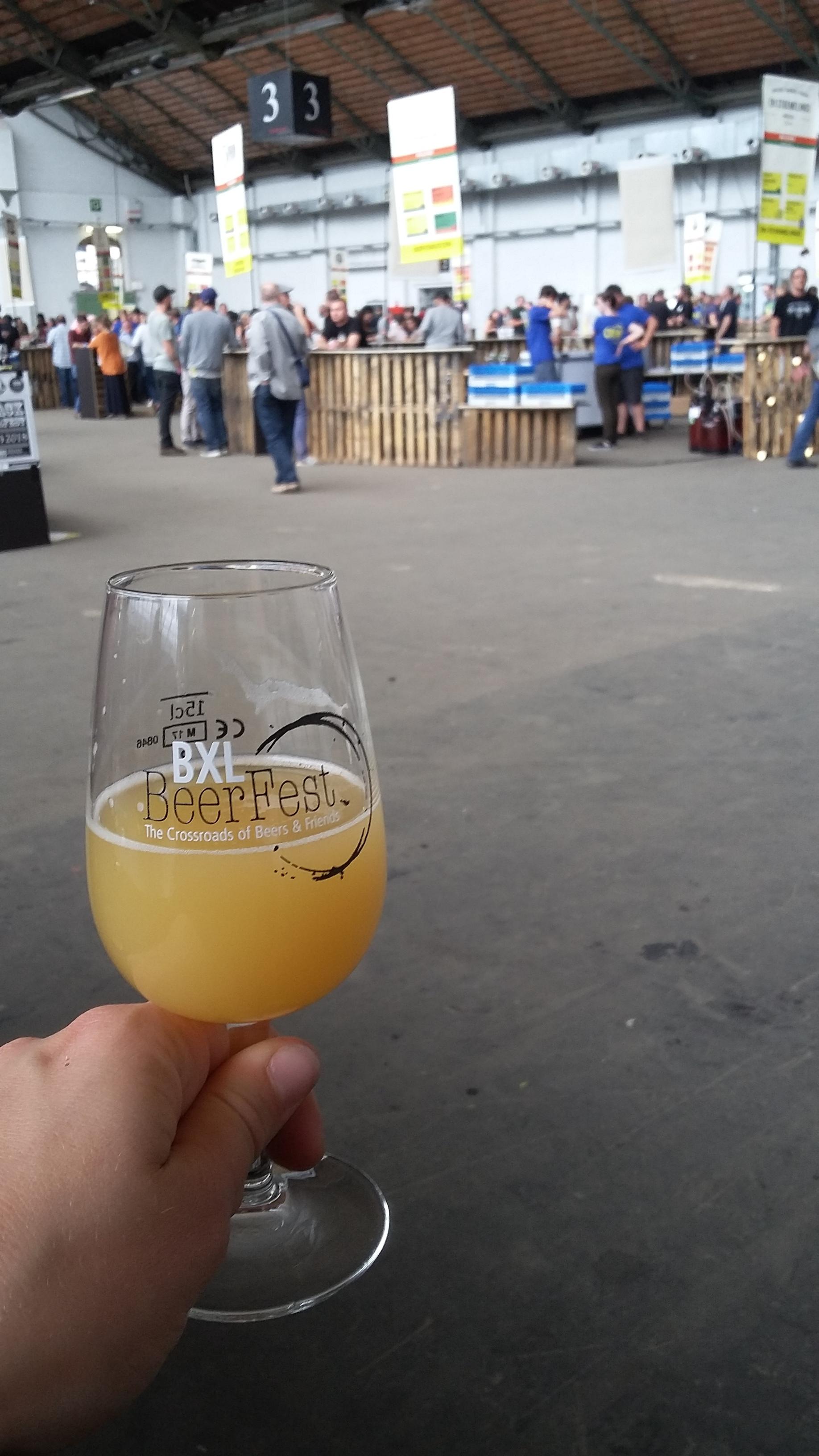 Beer fest in Brussels