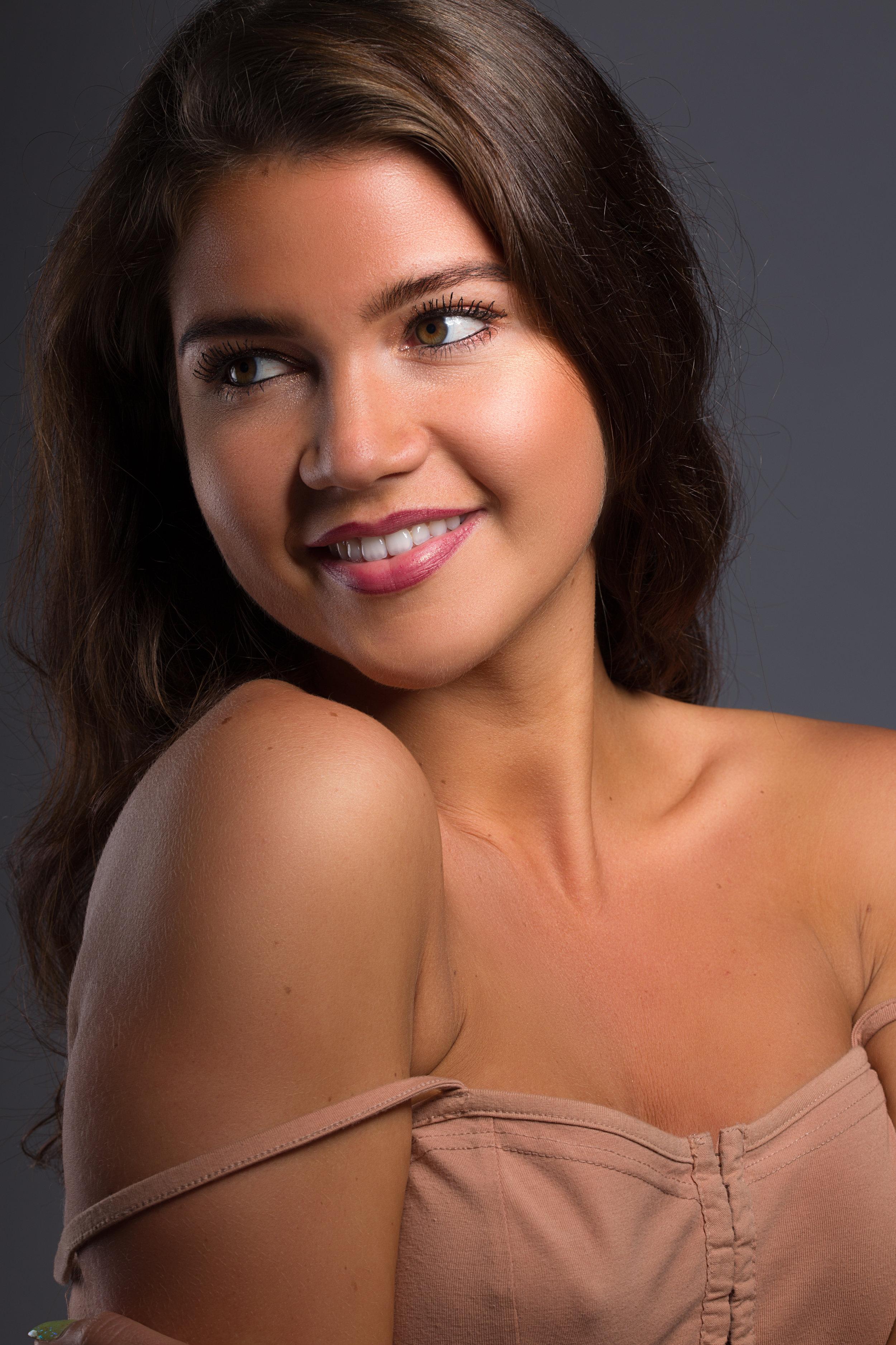 beauty Portrait headshot photographer Cardiff