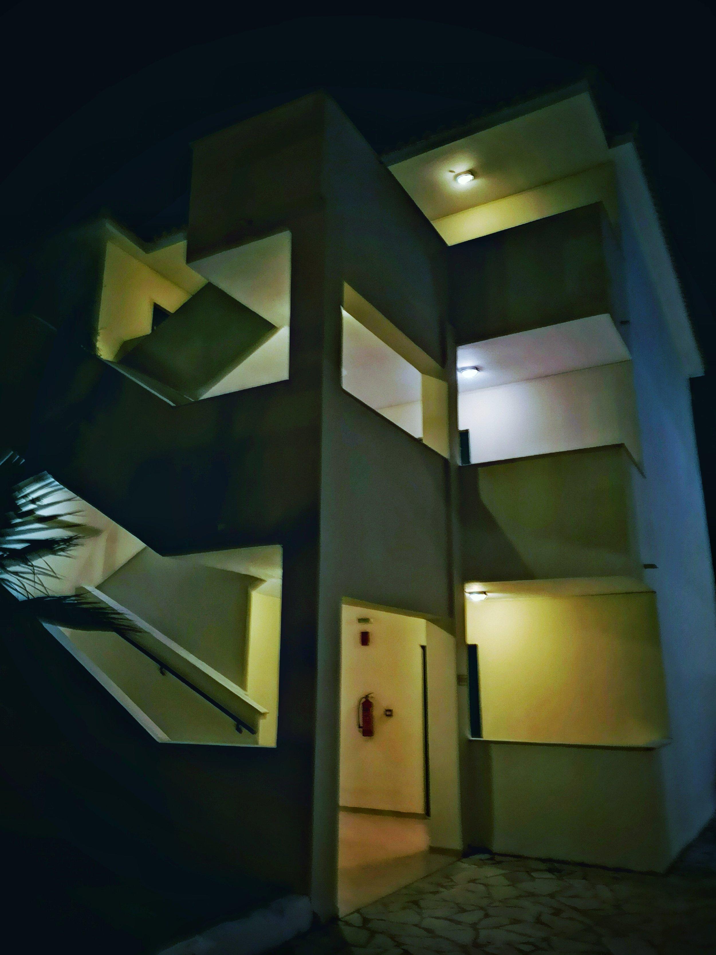 Alykanas village apartment block