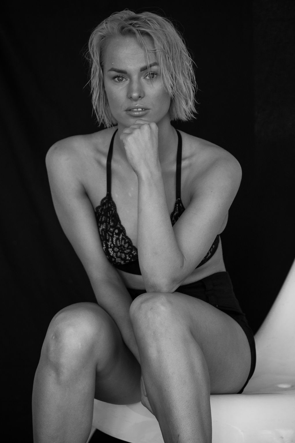 Intimate glamour portrait photography