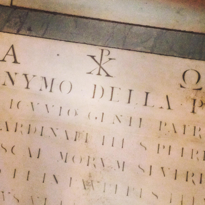 Capella Brancacci, the Alpha and the Omega.