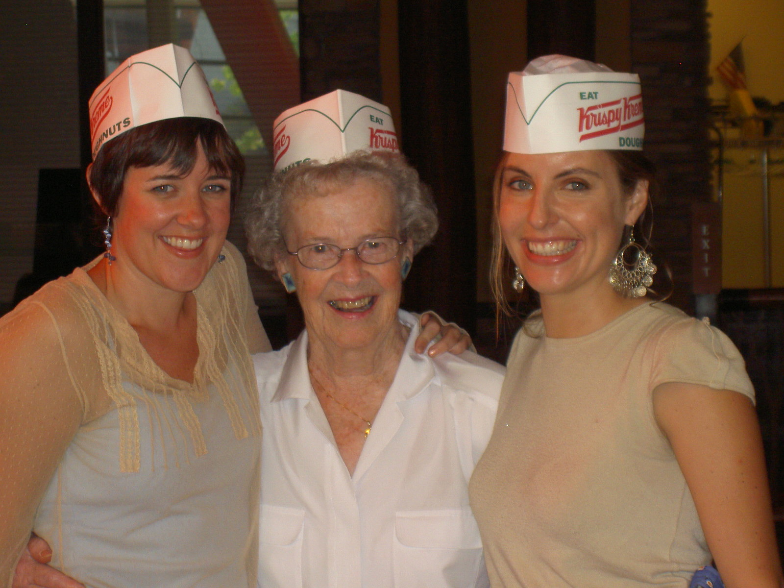 That time we gambled and ate doughnuts, 2005.