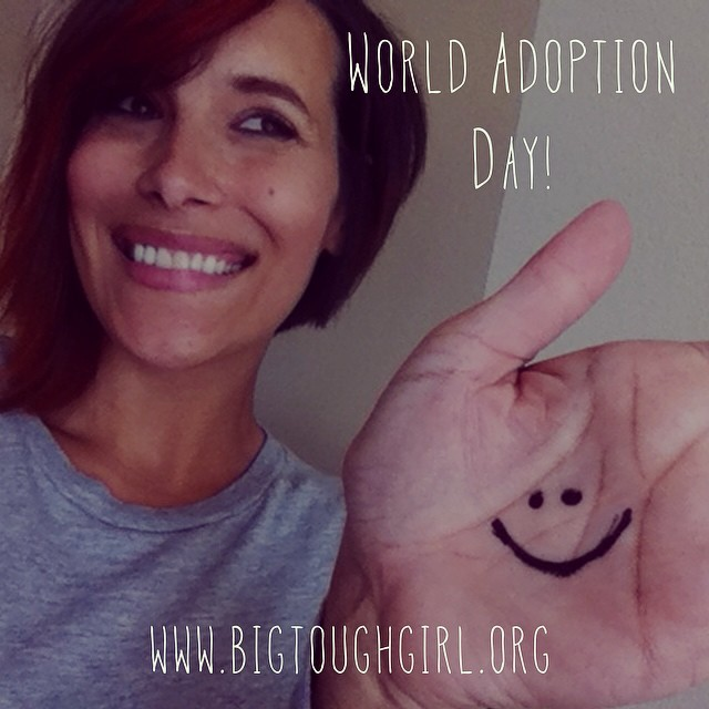 "#btgadoption   9. World. Today is   #worldadoptionday   and it is the first ever! I get so excited for the progress that is happening with adoption but I know that there is more work to do!! ON THE BLOG we ar  e sharing our favorite song from Adoptive Father @joshbkelley (Naleigh Moon) and a custom piece we designed for his beautiful wife Ms. @katherineheigl to honor her children. It is an exciting time adoption indeed! ""They're yours. You love them the moment they're put into your arms. "" — Ms. Katherine Heigl"