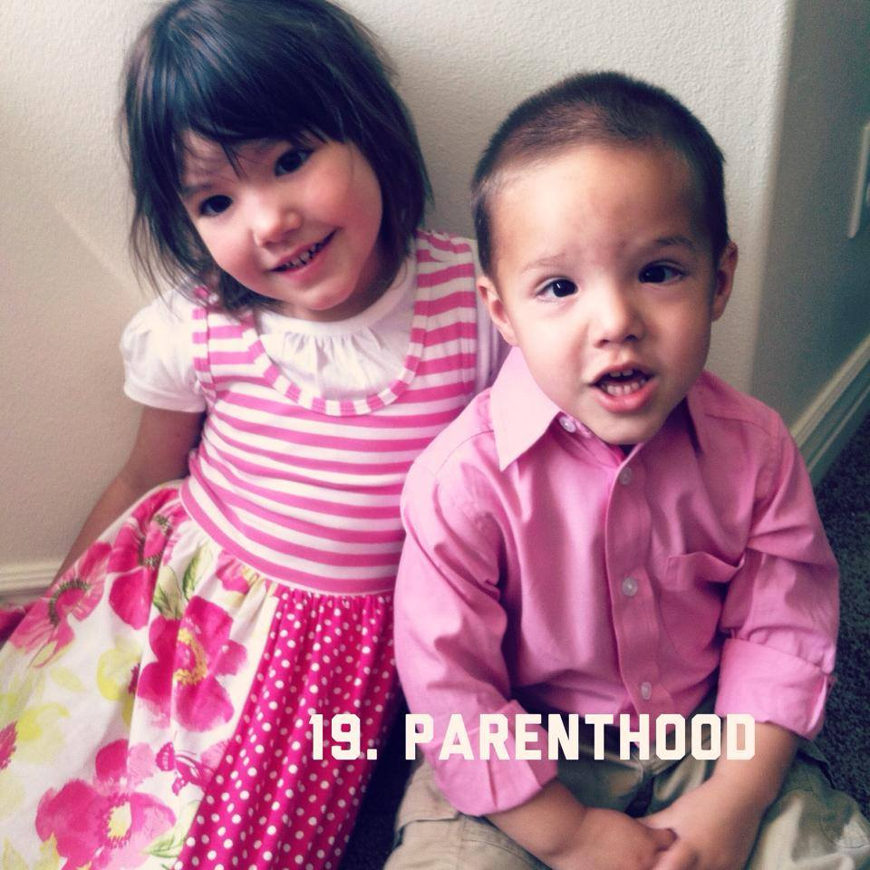 #btgadoption 19. Parenthood. My husband and I have two children, our Tweedle and Ollie. Being a mother is the hardest thing I have ever done. When I placed my first child for adoption I was 26 years old. I have been publicly slaughtered for placing at 26. I had a job, my own apartment, medical benefits and more. I knew then that I didn't have what it takes to be a mother...I am learning that at the age of 34 I don't have what it takes now! I am constantly challenged and fail daily, I am exhausted and frustrated, I am worried and stress over their future and what I am doing that will screw them up. I have NO idea how to do this but I know that I love them and that I would put down my life for them. I could have raised that little boy, we could have figured it out but that is NOT the choice I made. I chose adoption and so I stand by that! My husband and I were so blessed to become parents so we stand by that...even in the hardest moments. I learn from my kids every day. They are everything that is good and right in my life. I pray daily that I can be a good steward over these special souls! I am always thinking of the family that adopted my birth son, their willingness to open their arms to a complete stranger and take on all the great challenges that come with being a parent, a greater respect and appreciation has grown in my heart for them as I learn more and more what it truly means to be a parent to our children.