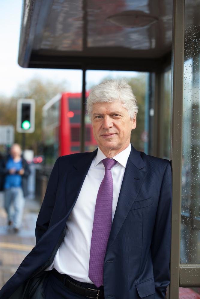 CEO portrait in London