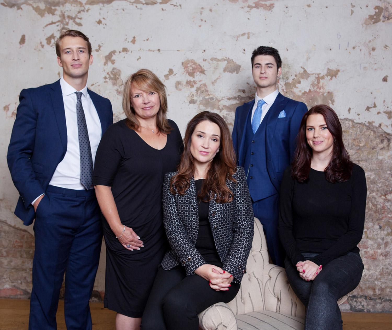 Crown Mayfair Team at Jaks in Chelsea