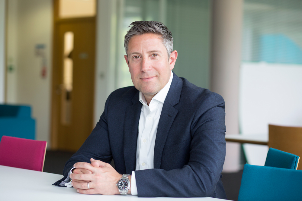 CEO of Nominet, Russel Haworth