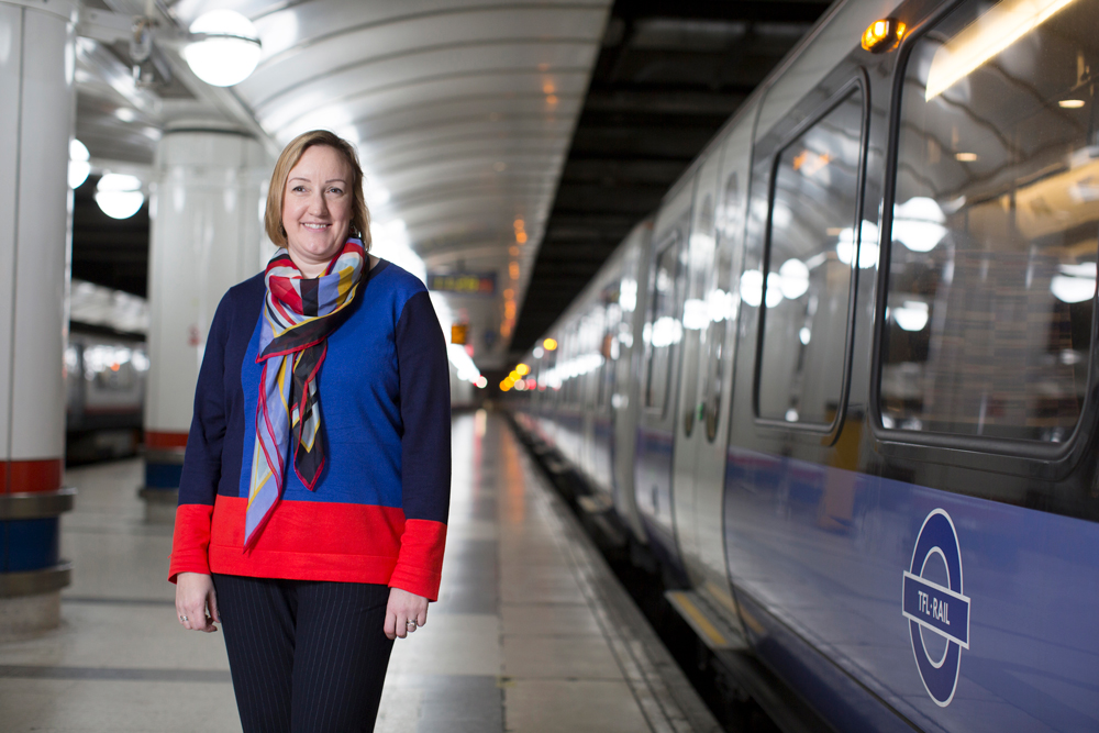Alison Bell, HR director at MTR Crossrail
