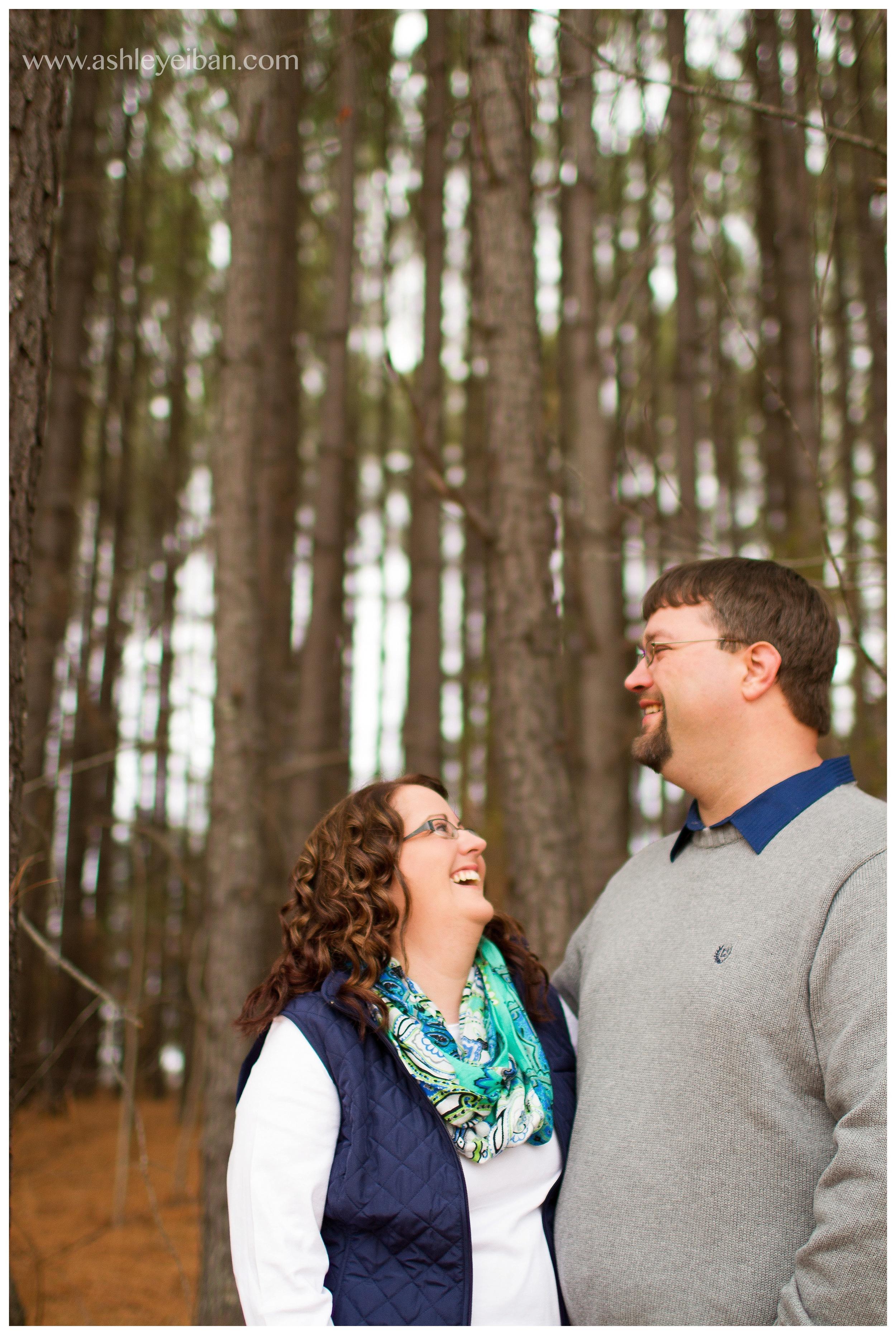 Rustic Lynchburg Virginia Engagement Session // Ashley Eiban Photography