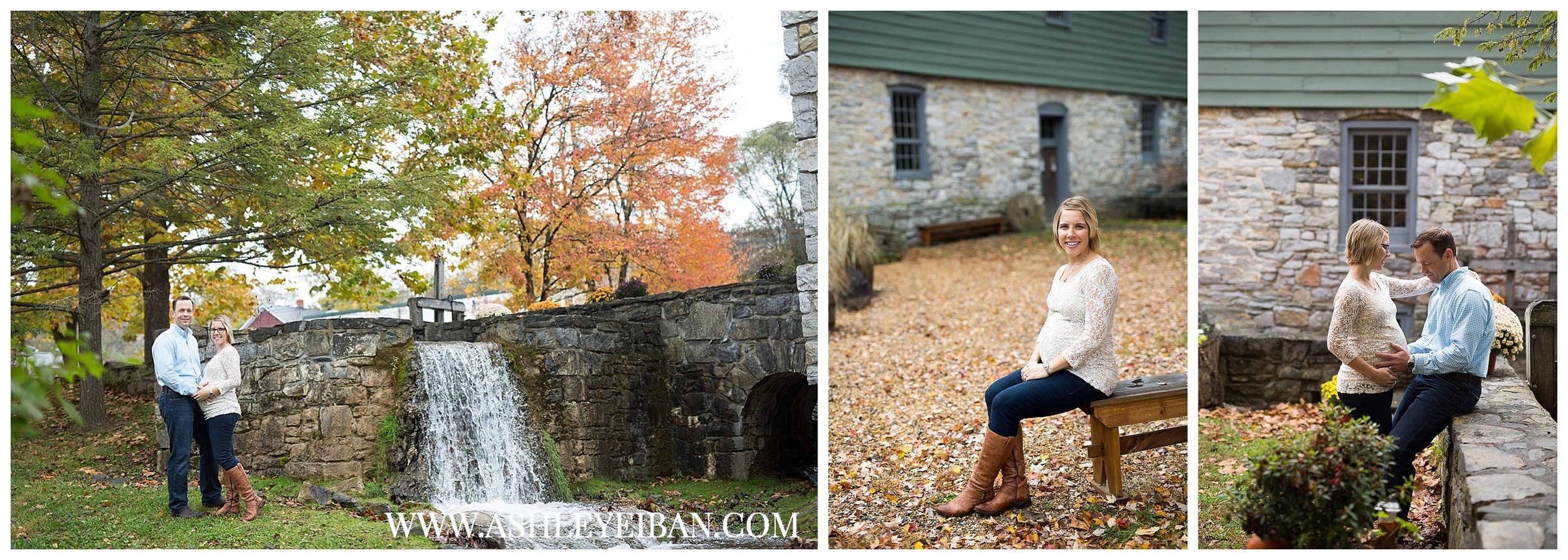 Winchester VA Wedding and Portrait Photographer || Lynchburg, VA Maternity Photographer || Fall Maternity Photos || Ashley Eiban Photography || www.ashleyeiban.com