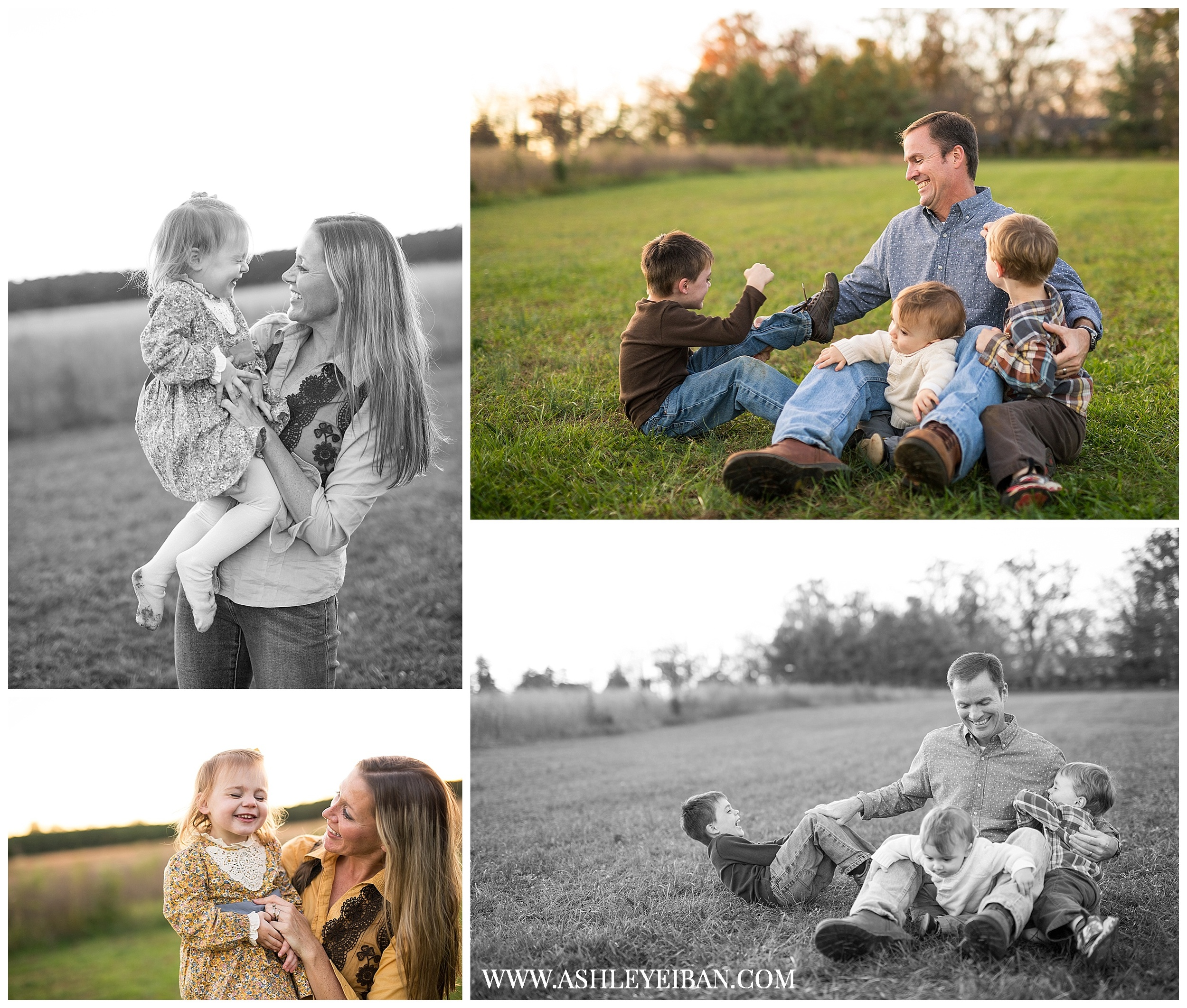 Lynchburg, Virginia Family Photographer || Central Virginia Wedding & Portrait Photographer  || Ashley Eiban Photography || www.ashleyeiban.com