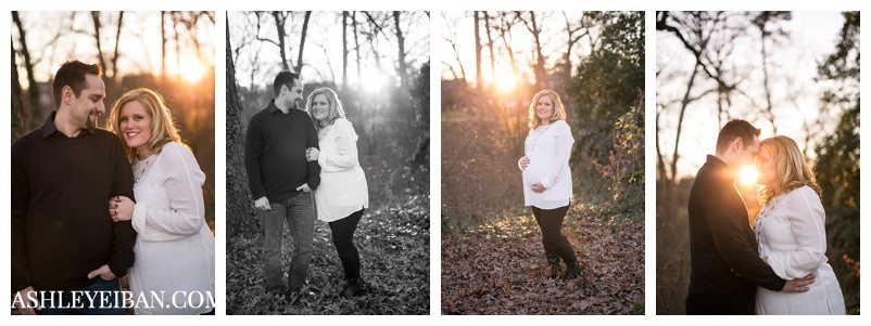 Richmond, VA Photographer || Maternity Photographer || Lynchburg, VA Photographer || Winter Maternity Photos || Ashley Eiban Photography || www.ashleyeiban.com