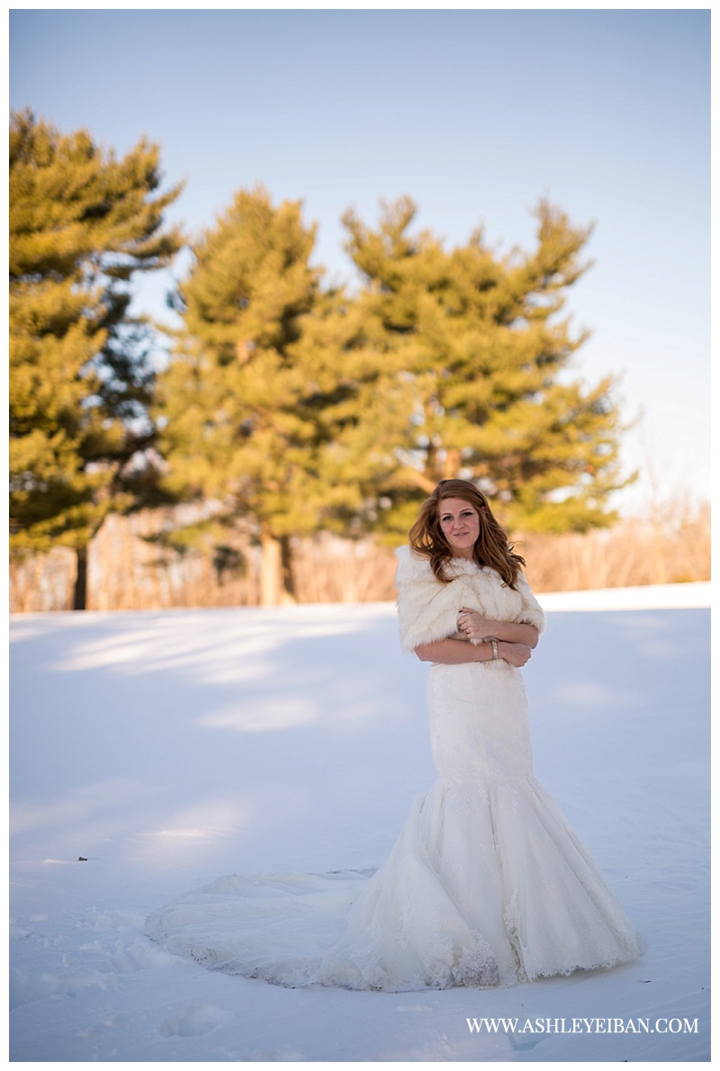 Snowy Winter Wedding ||  Boonsboro Country Club Wedding || Lynchburg, VA Wedding Photographer || Ashley Eiban Photography || www.ashleyeiban.com