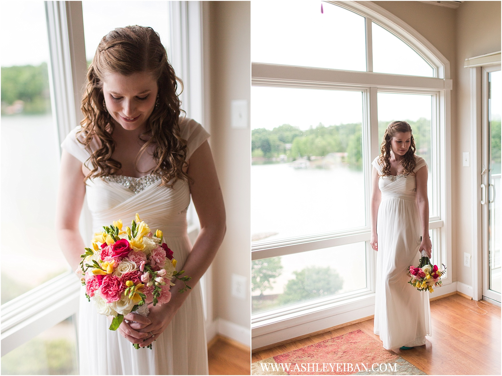 Smith Mountain Lake Wedding || Elopement and Wedding Photographer  || Ashley Eiban Photography || www.ashleyeiban.com
