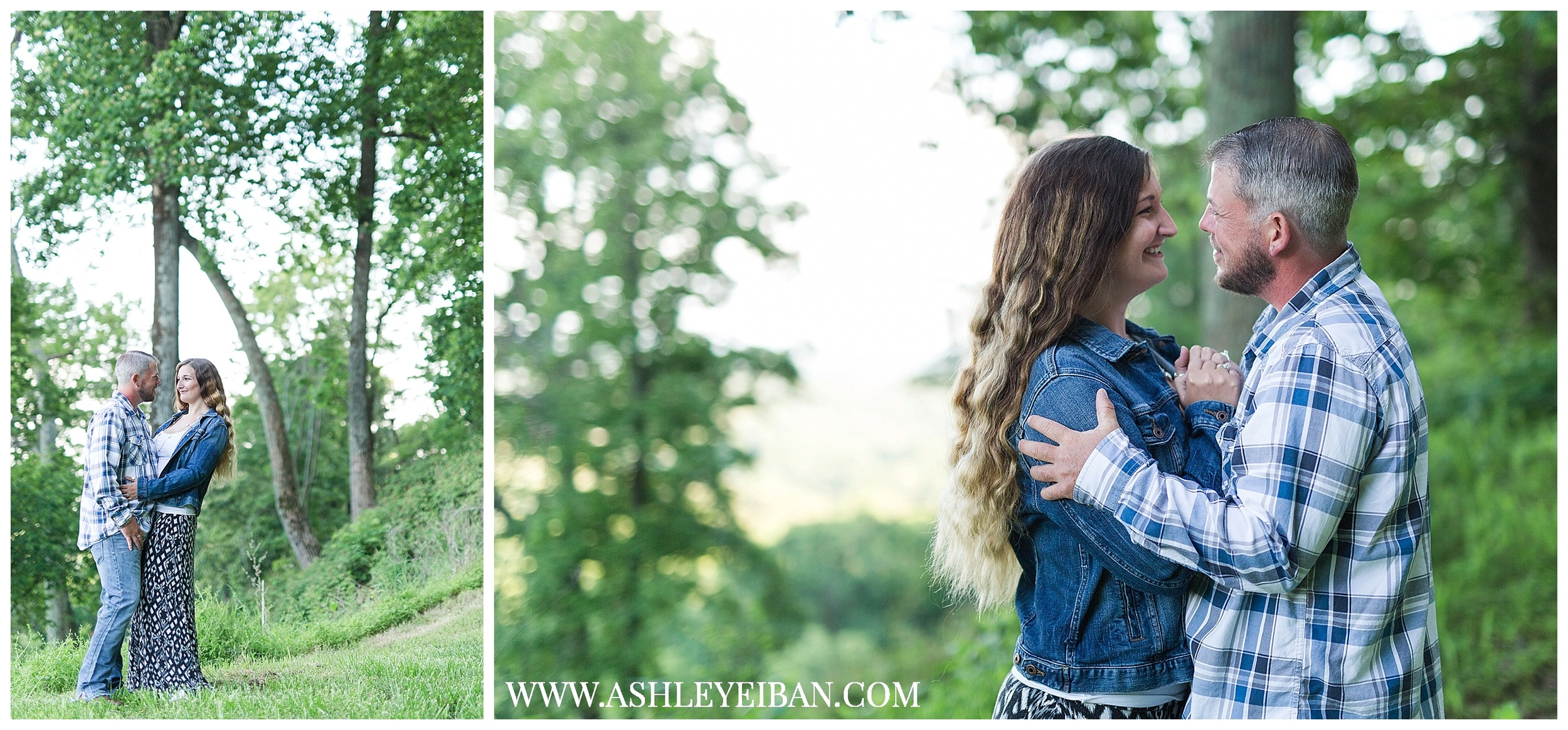 Lynchburg , VA Spring Engagement Photos || Lynchburg Wedding Photographer || Ashley Eiban Photography || www.ashleyeiban.com