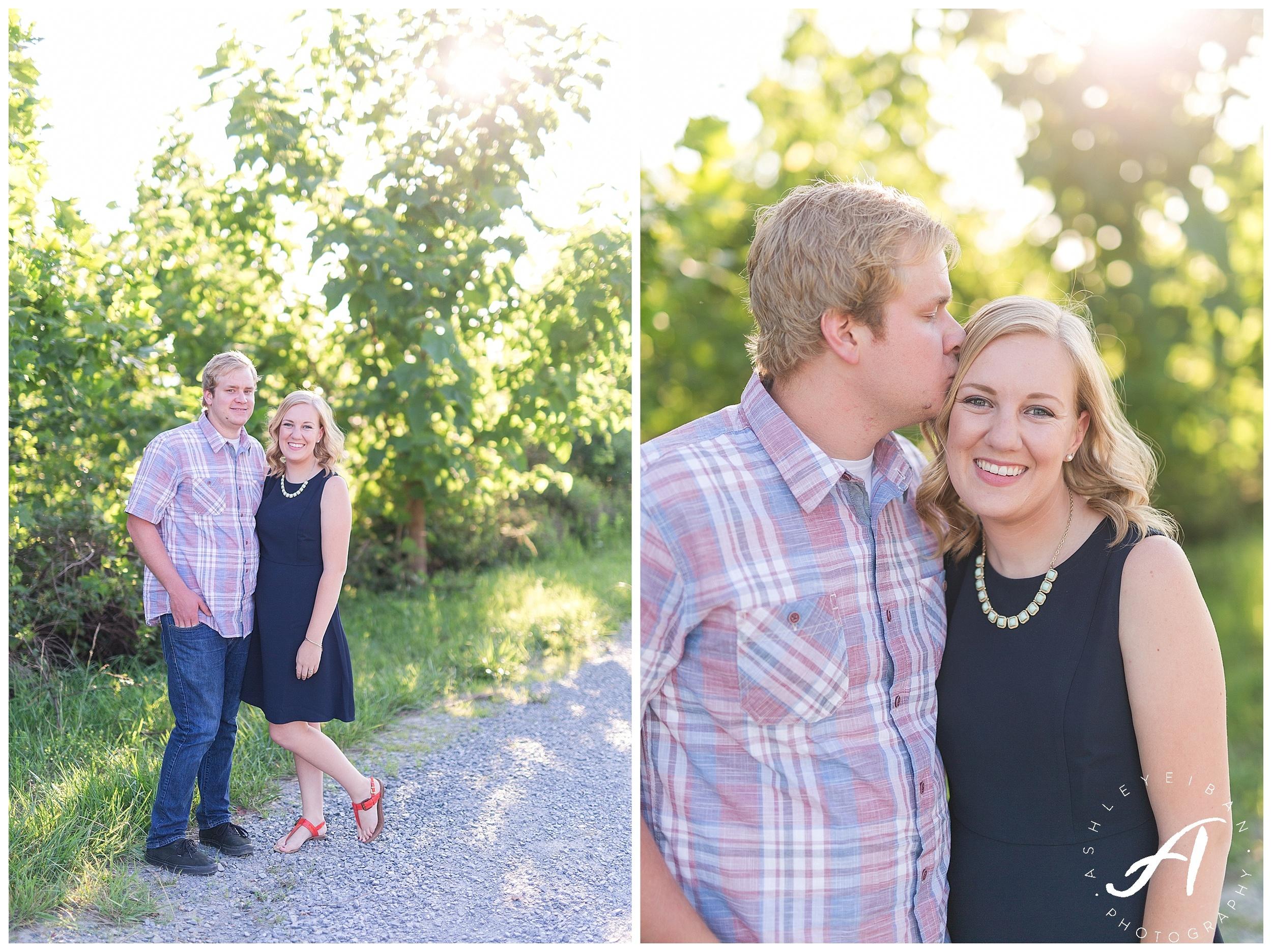 Summer Engagement Session || Lynchburg VA Wedding Photographer || Charlottesville Wedding Photographer || Ashley Eiban Photography || www.ashleyeiban.com