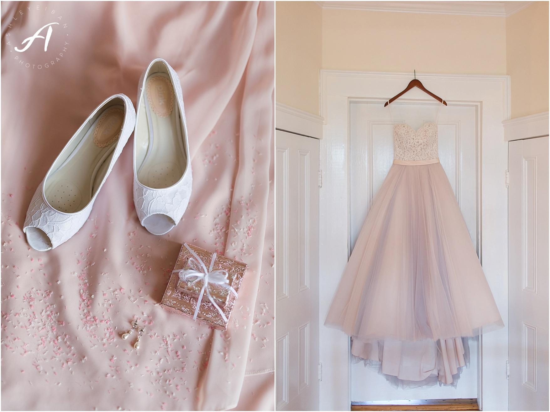 blush wedding details || Trivium Estate Wedding || Forest, Virginia || Ashley Eiban Photography