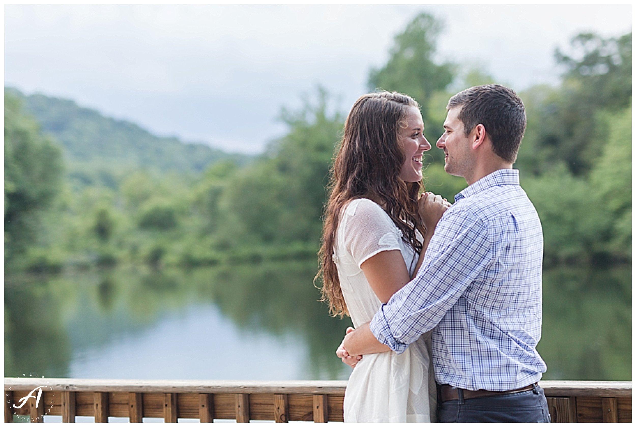 Sweet Briar College Summer Engagement Session || Lynchburg, Virginia Wedding Photographer || Ashley Eiban Photography || www.ashleyeiban.com