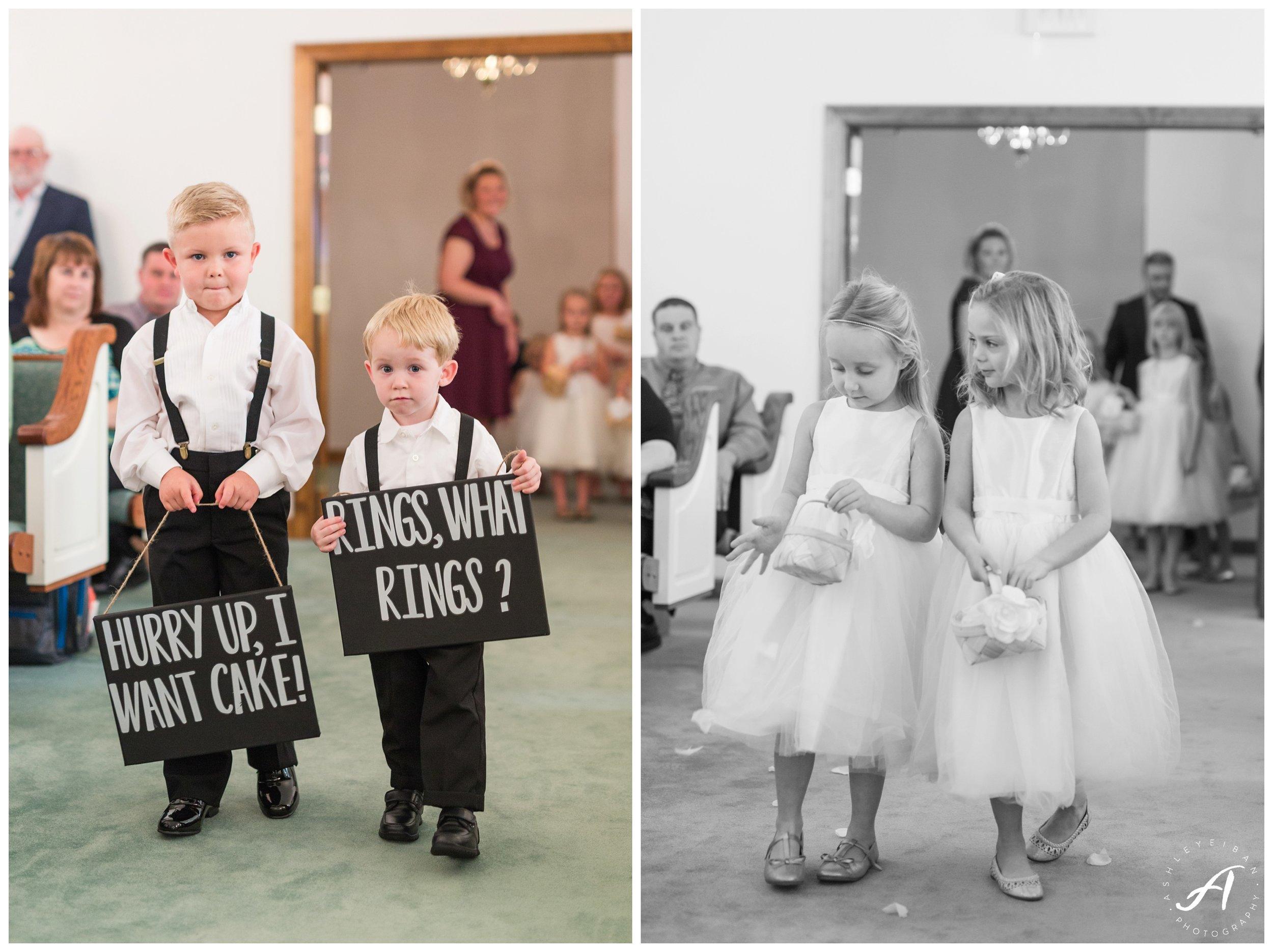 Staunton Church Wedding || Central Virginia Wedding Photographer || www.ashleyeiban.com