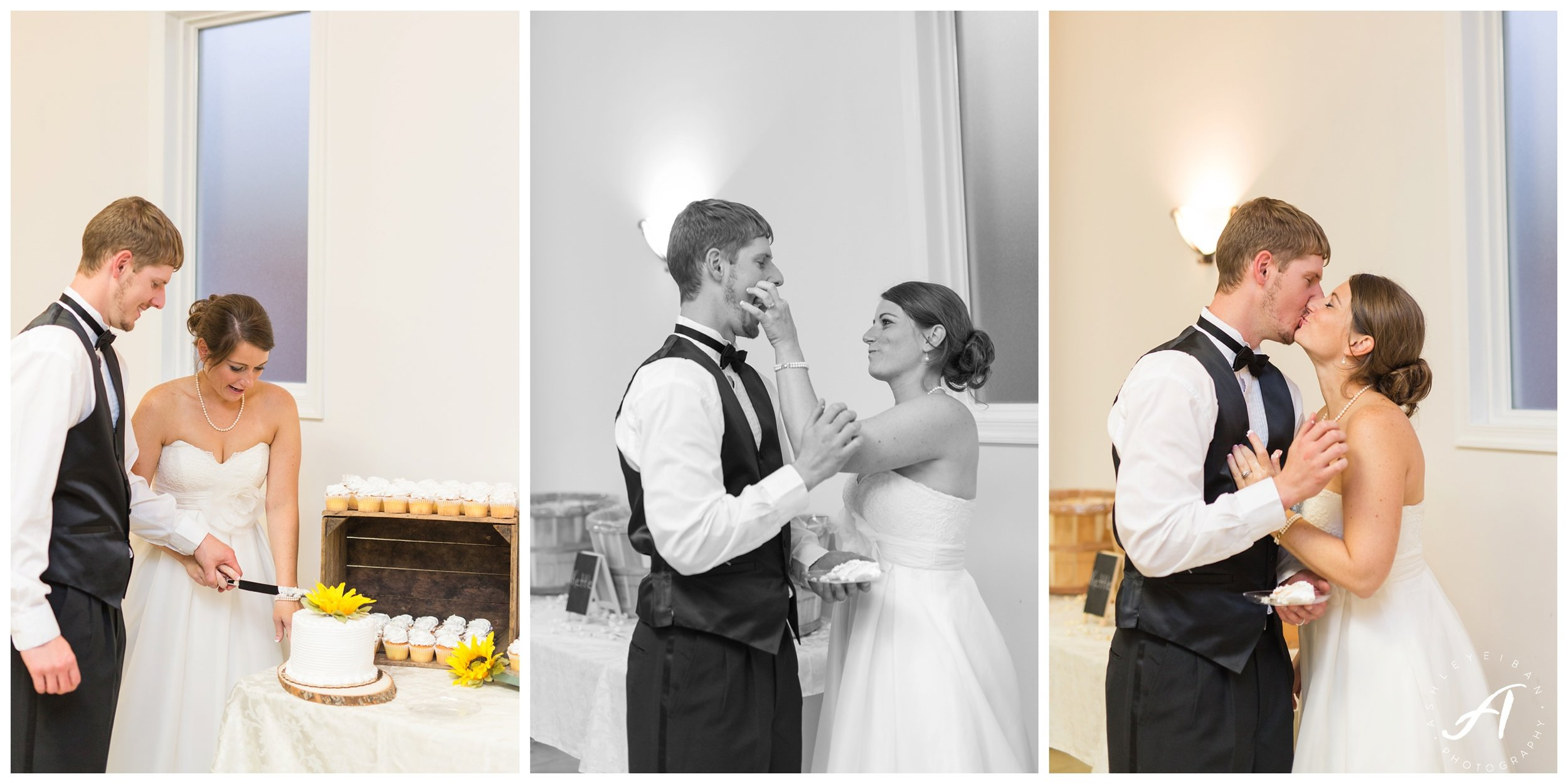 Staunton Church Wedding || Central Virginia Wedding Photographer || www.ashleyeiban.com