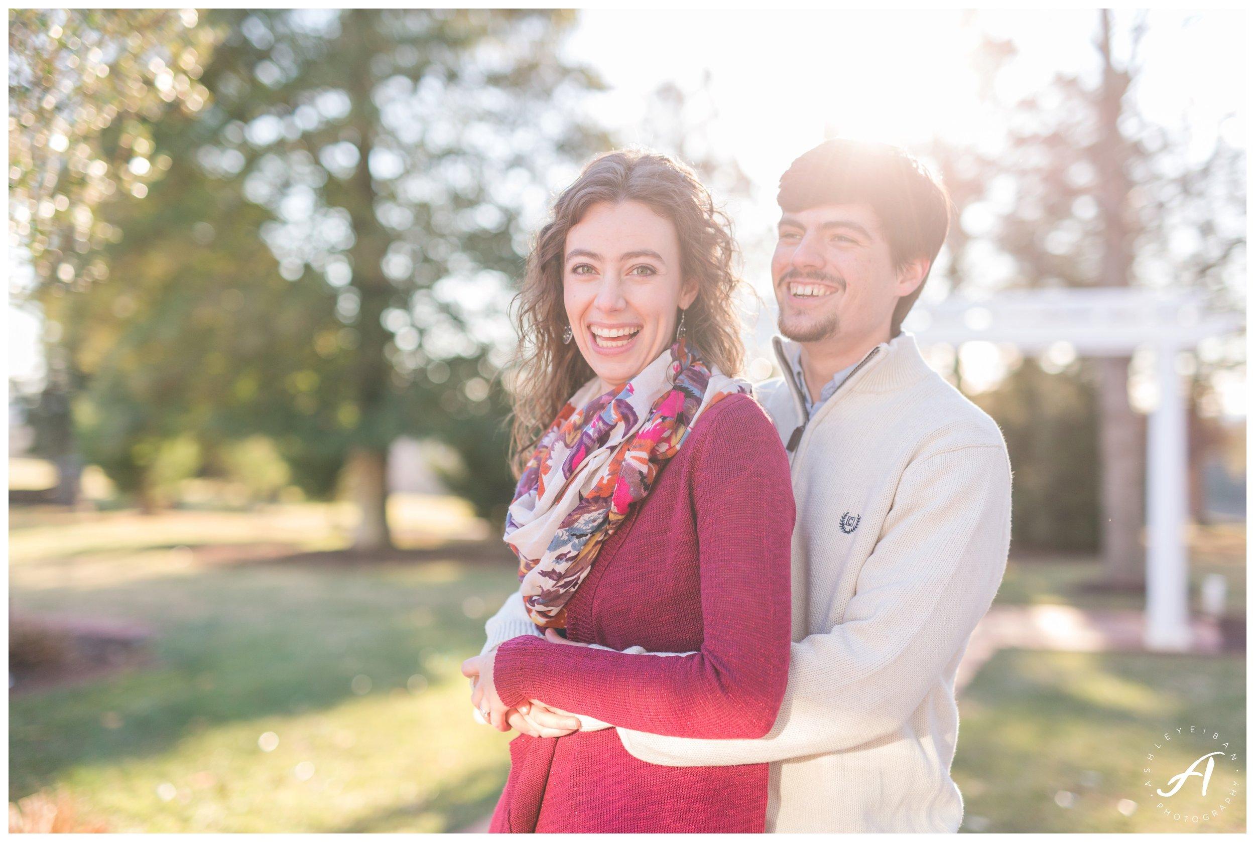 Trivium Estate Engagement Session || Lynchburg and Forest Wedding Photographer || www.ashleyeiban.com