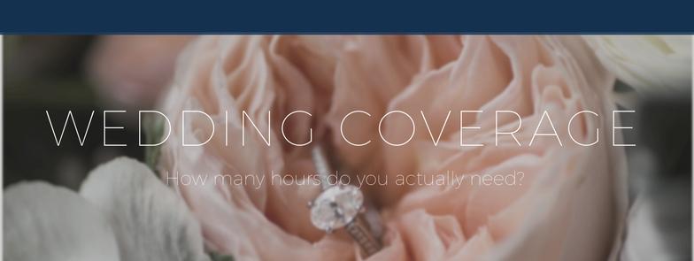 How many hours of wedding photography do you need || Central Virginia Wedding Photographer || Ashley Eiban Photography || www.ashleyeiban.com