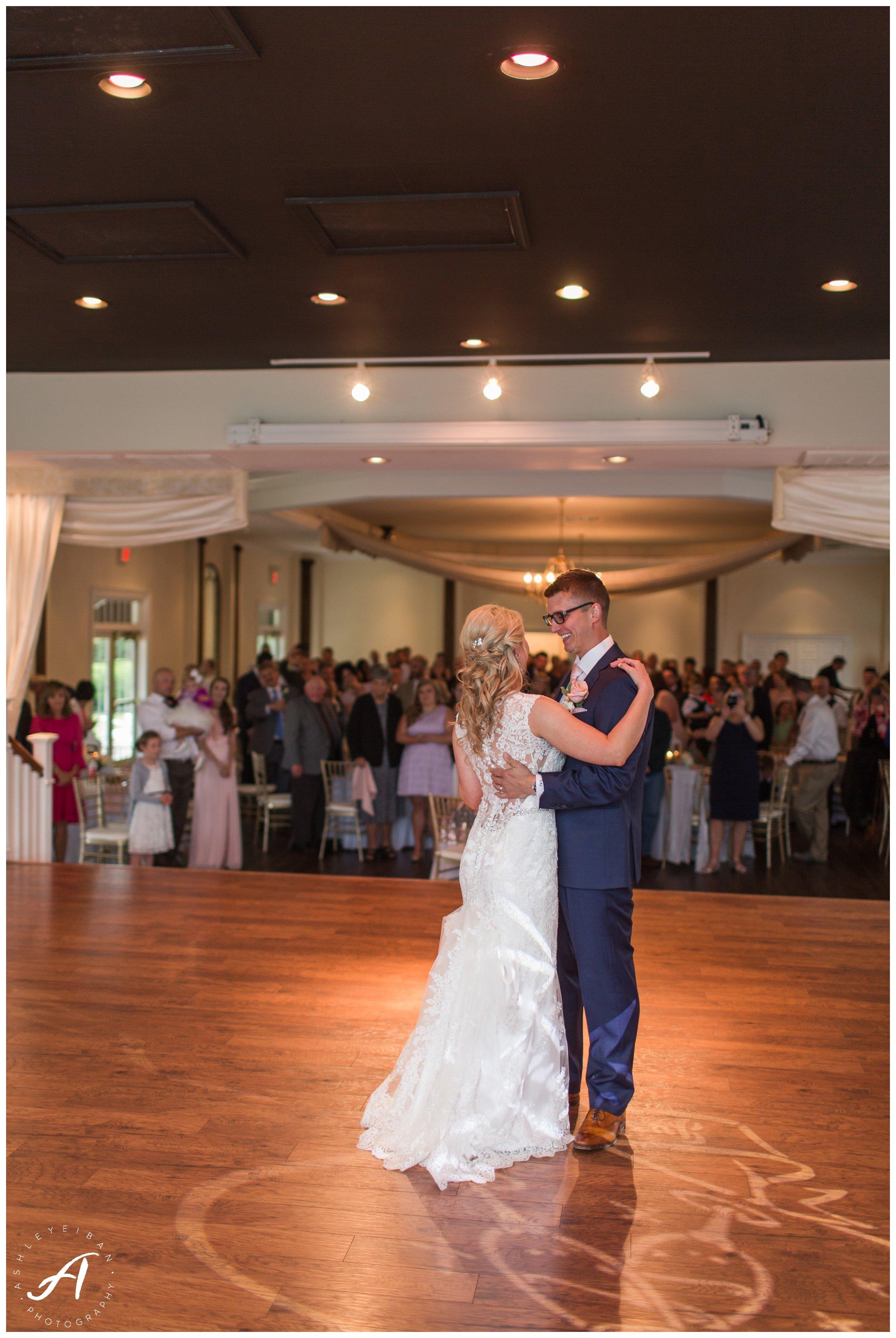 First Look moments || Spring Trivium Estate Wedding || blush and navy wedding || Ashley Eiban Photography || www.ashleyeiban.com