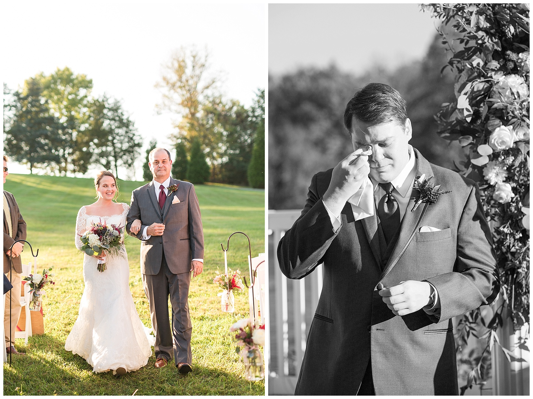 Charlottesville and Lynchburg Wedding Photographer || Fall Trivium Estate Wedding || Ashley Eiban Photography || www.ashleyeiban.com