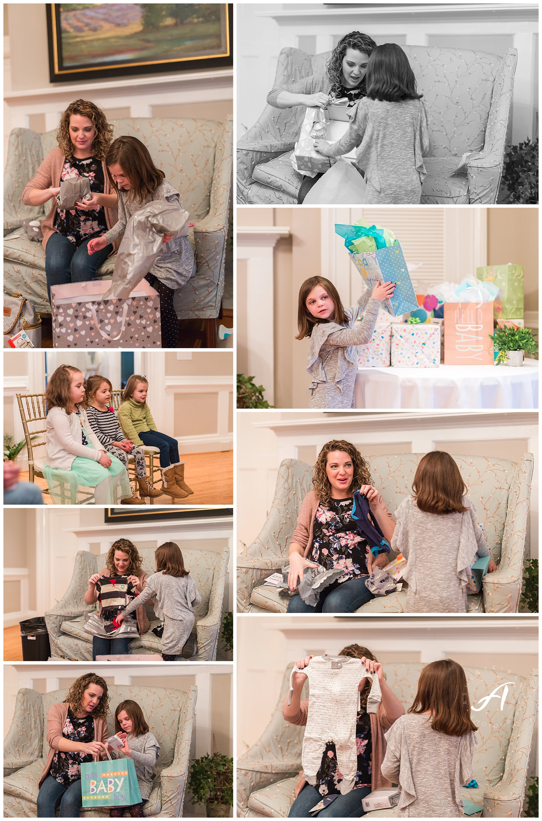Trivium Estate Baby Shower || Lynchburg Wedding Photographer || www.ashleyeiban.com
