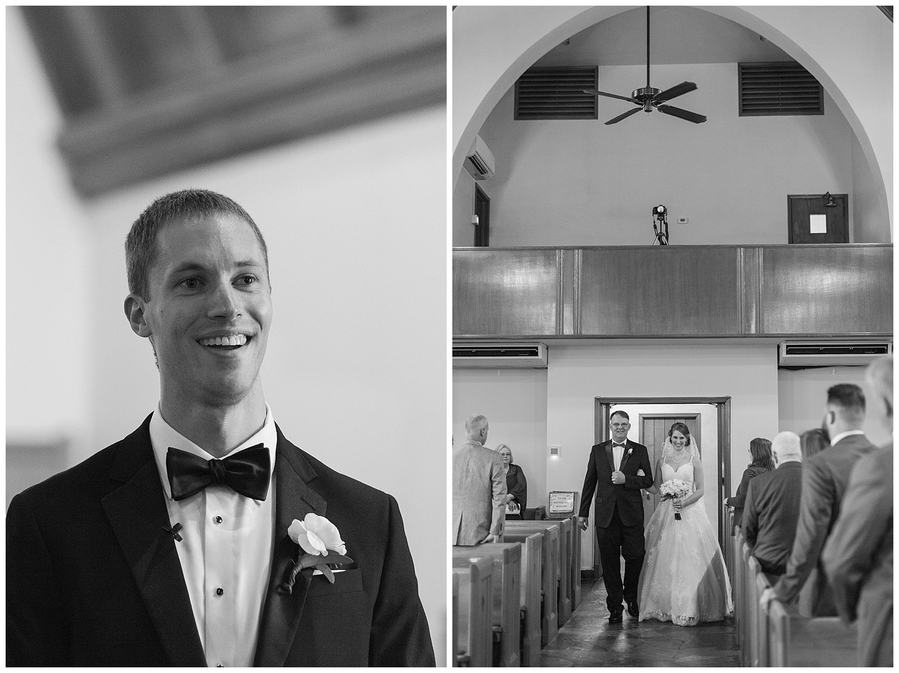 Roanoke, Virginia church wedding || Christ Lutheran Church in Roanoke || Wedding at The Braeloch on Glenburn Farms
