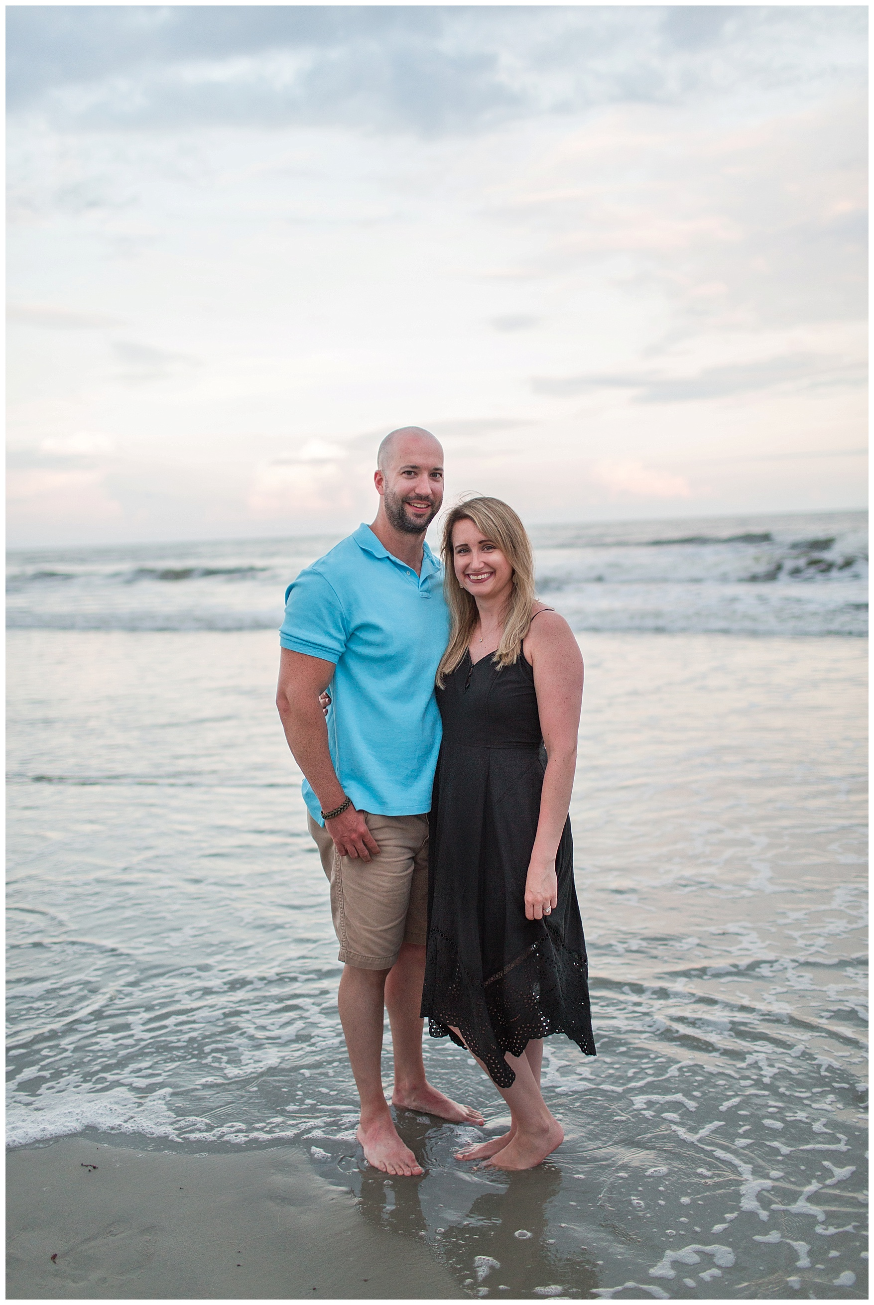 Family Portraits at Sunset Beach, North Carolina || Lynchburg, VA Wedding and Family Photographer