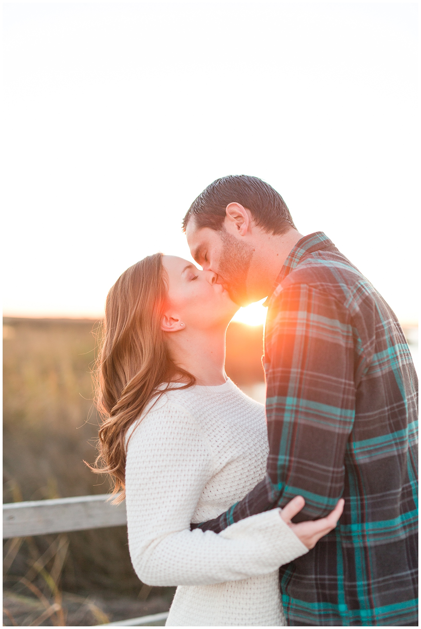 Back Bay Engagement Session || Central Virginia Wedding and Engagement Photographer || Beach Engagement Photos