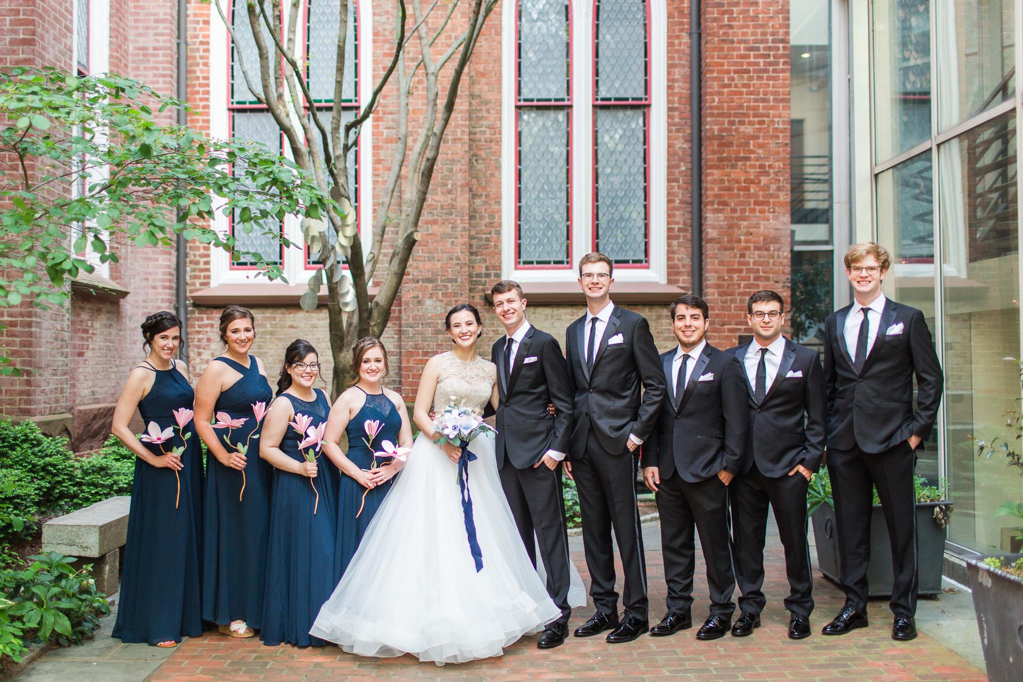 John Marshall Ballrooms Wedding in Richmond, VA || Lynchburg, Charlottesville, and Richmond Wedding Photographer || www.ashleyeiban.com