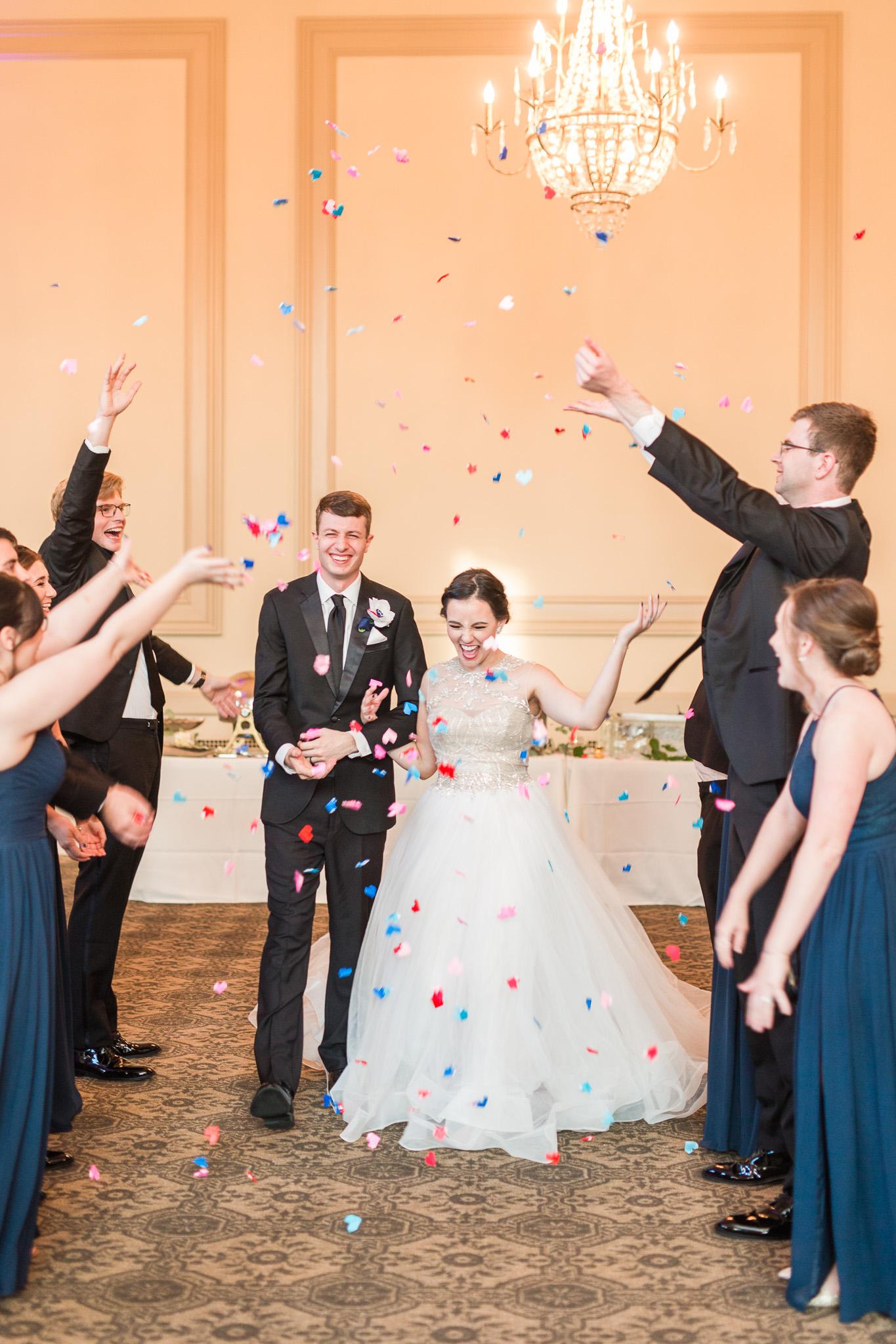 The John Marshall Ballrooms in Richmond, Virginia || Lynchburg, Charlottesville, and Richmond Wedding Photographer || www.ashleyeiban.com
