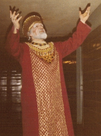 Bob as Tsar Beredey in SNOW MAIDEN - Rimsky-Korsakov