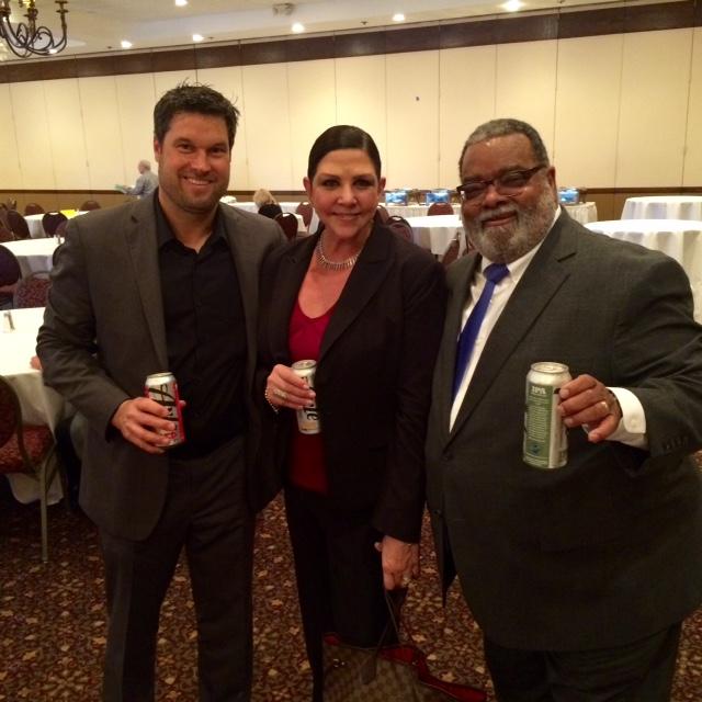 Keith Malec, Christina Tribuzio and Vincent Hylton